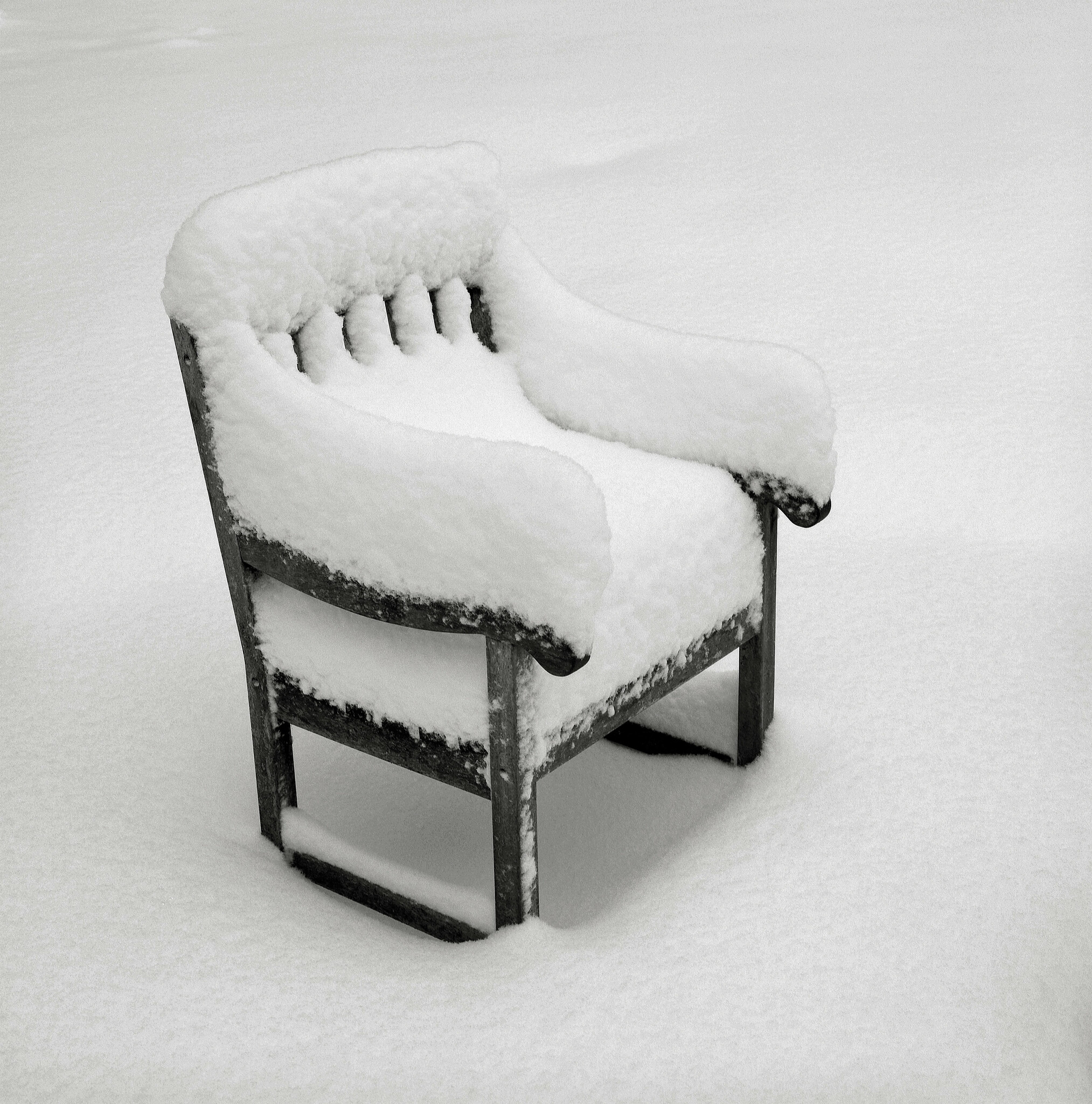Chair in Snow, Portland