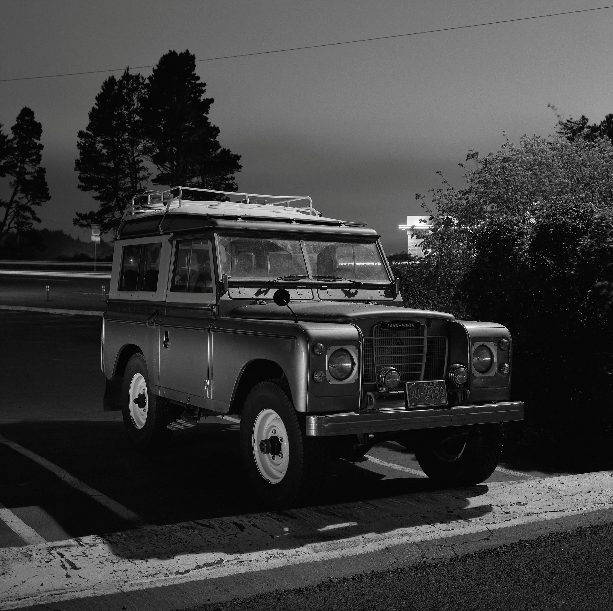 Land Rover, Florence, Oregon