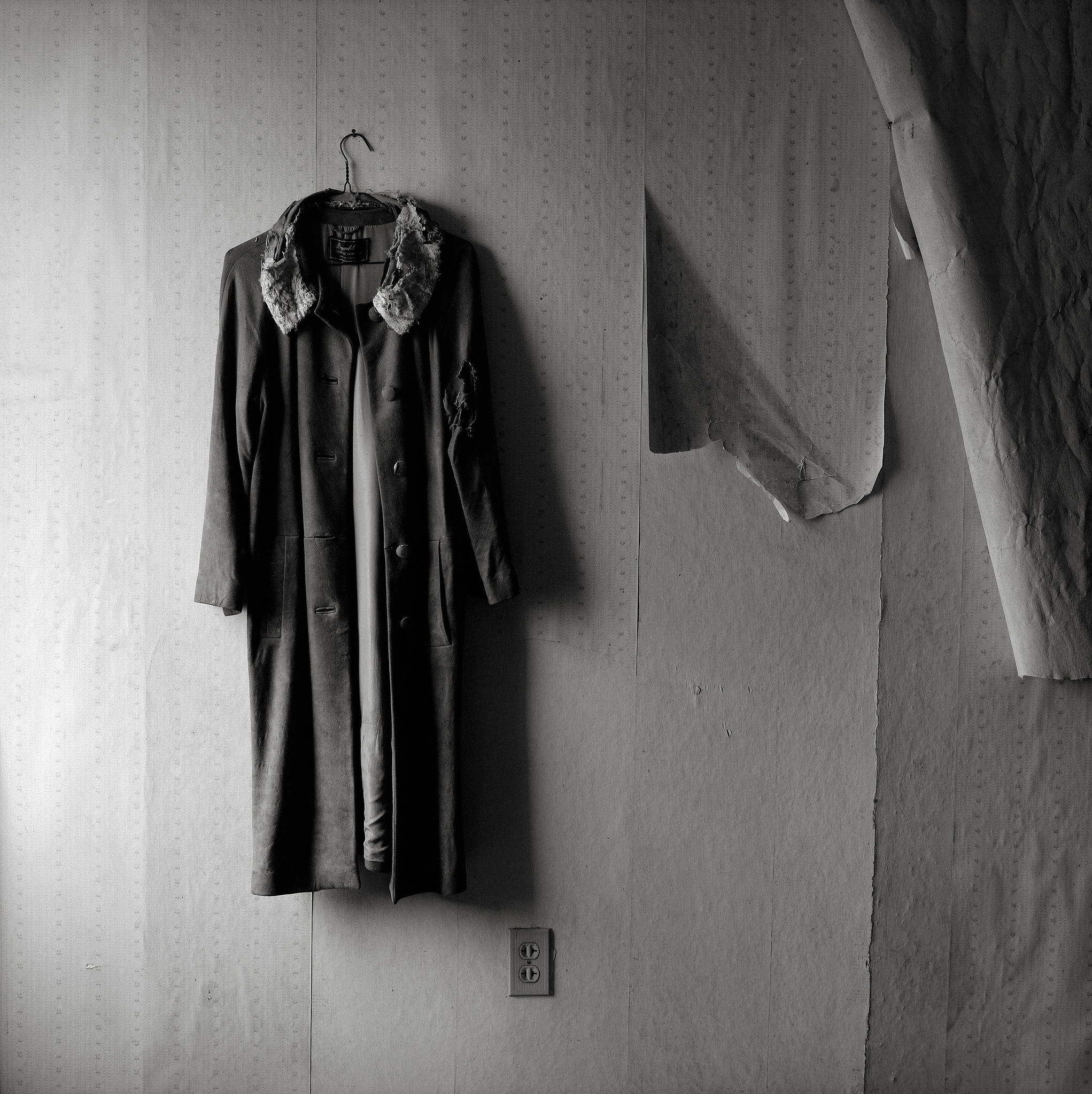 Coat, Abandoned Farmhouse
