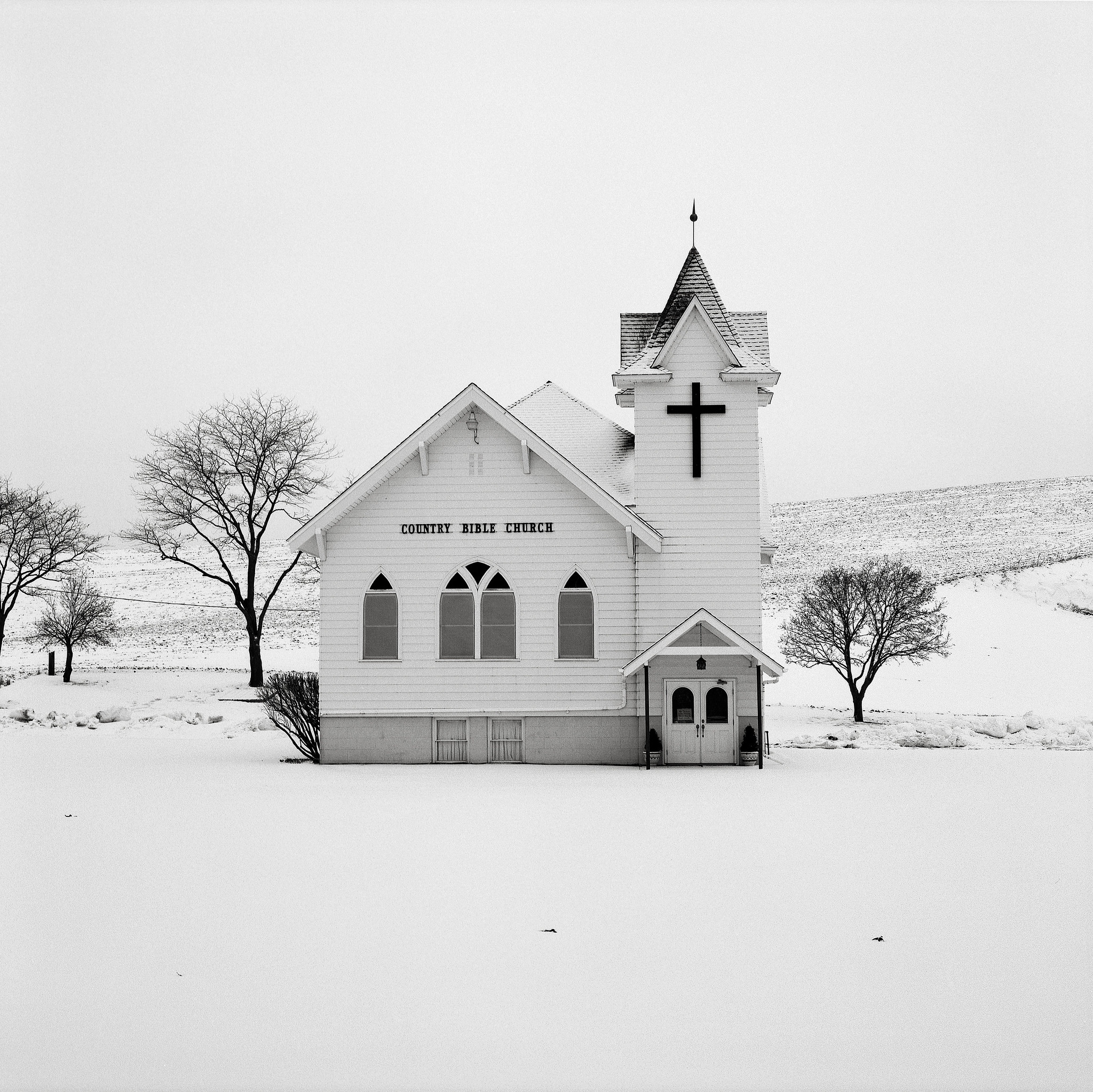 Church, near Dusty