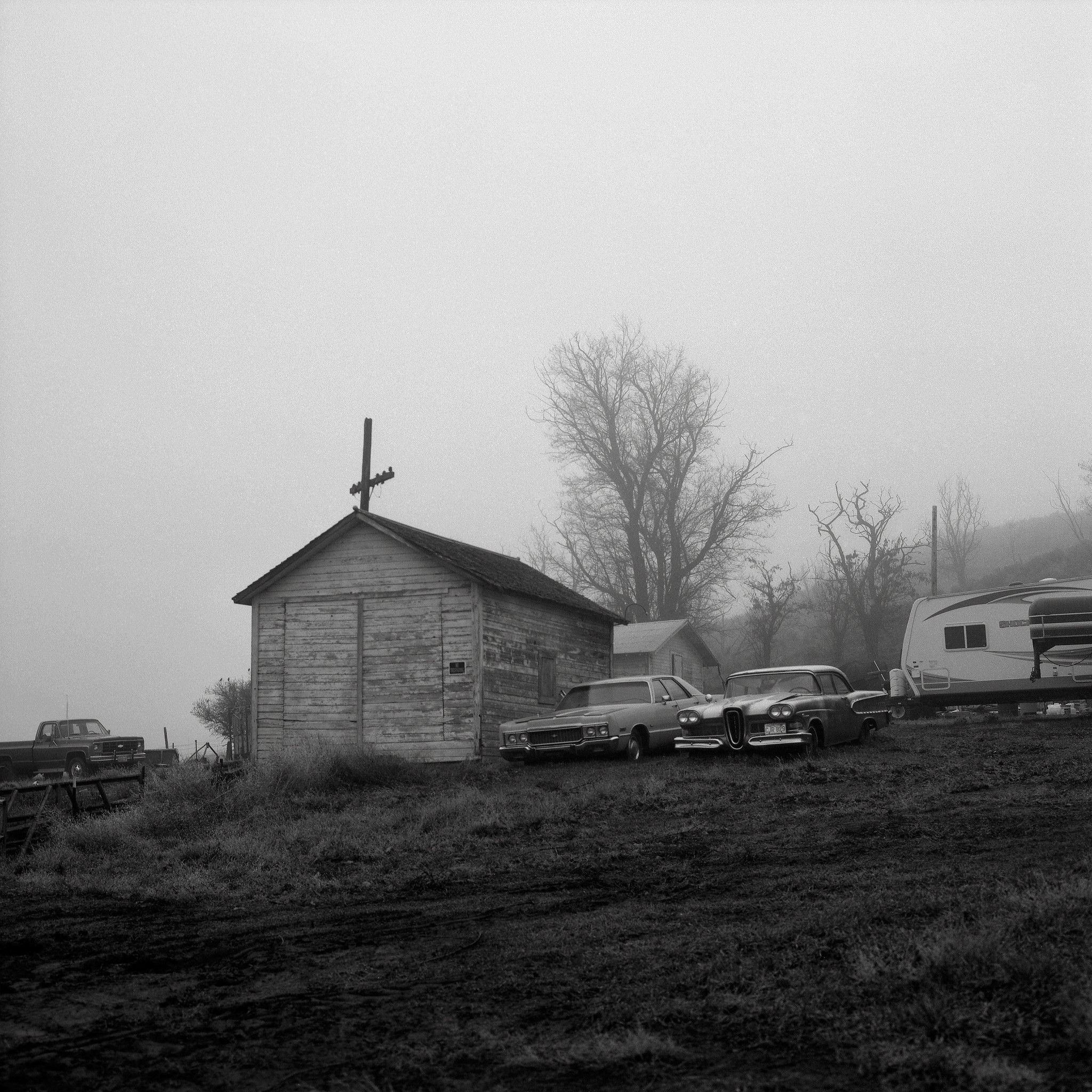 Along a Road