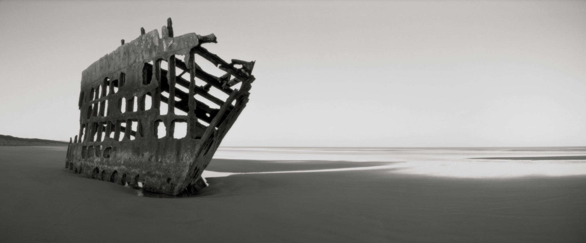 The Wreck of the Peter Iredale, Oregon Coast