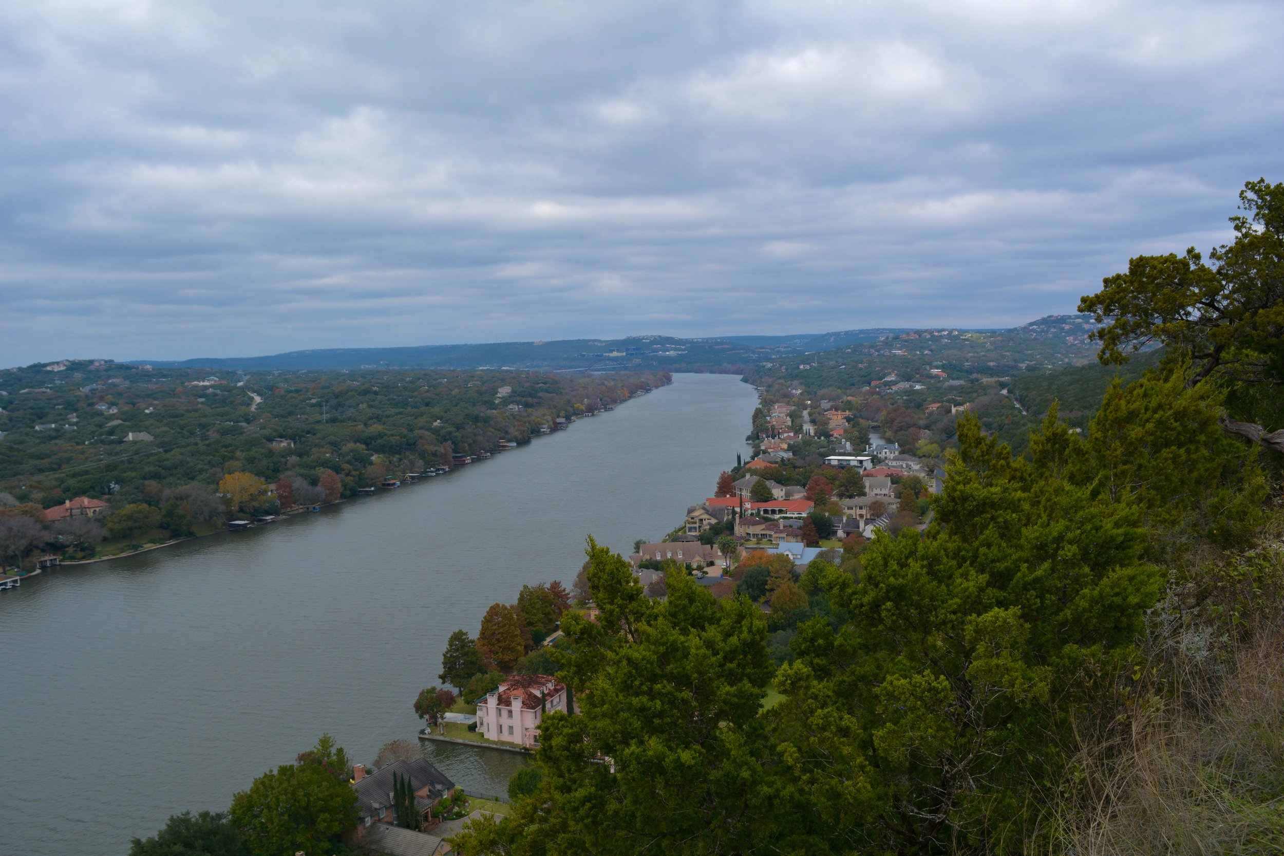 A view from Mt. Bonnell