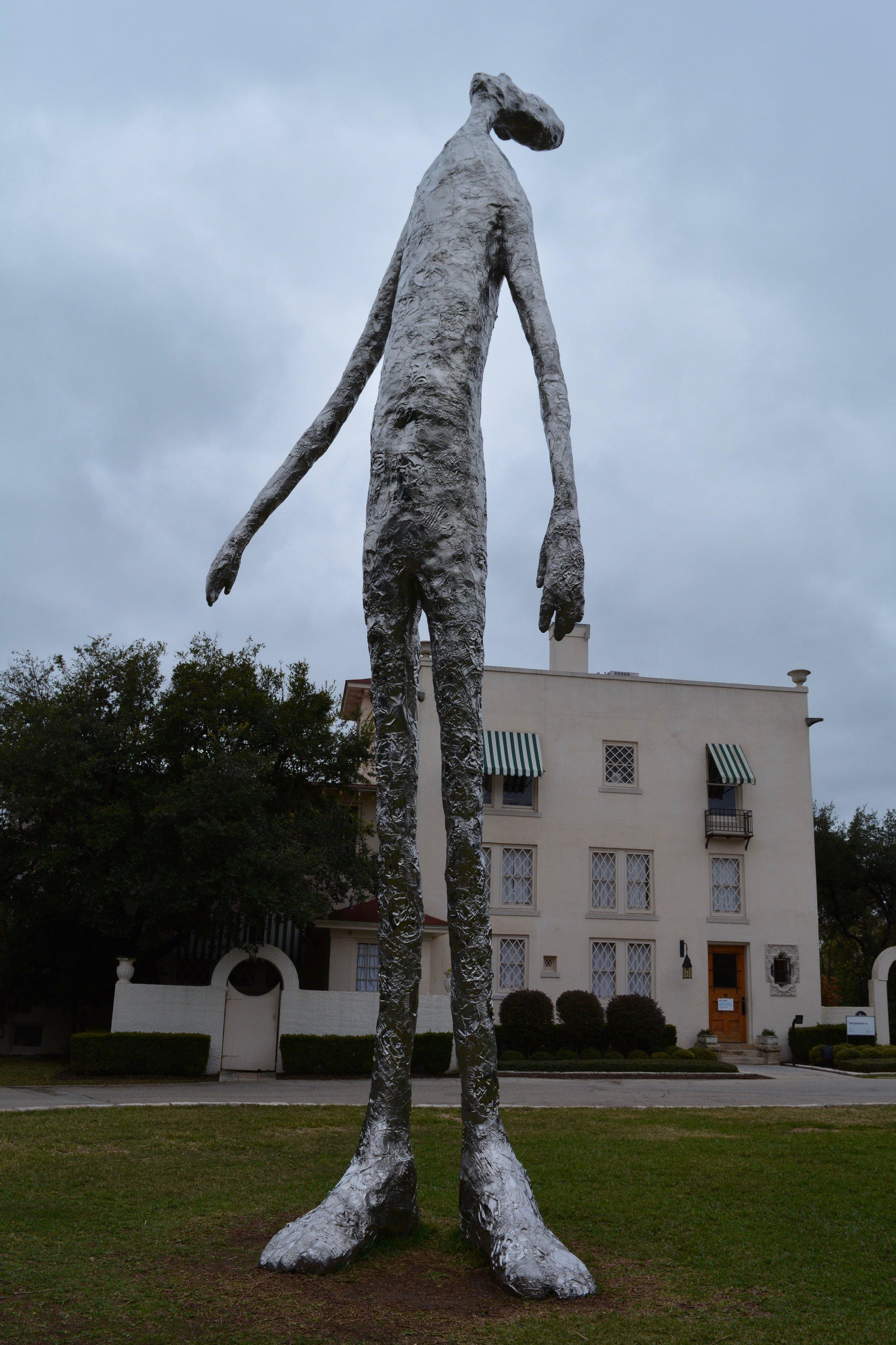 Sculpture at Laguna Gloria