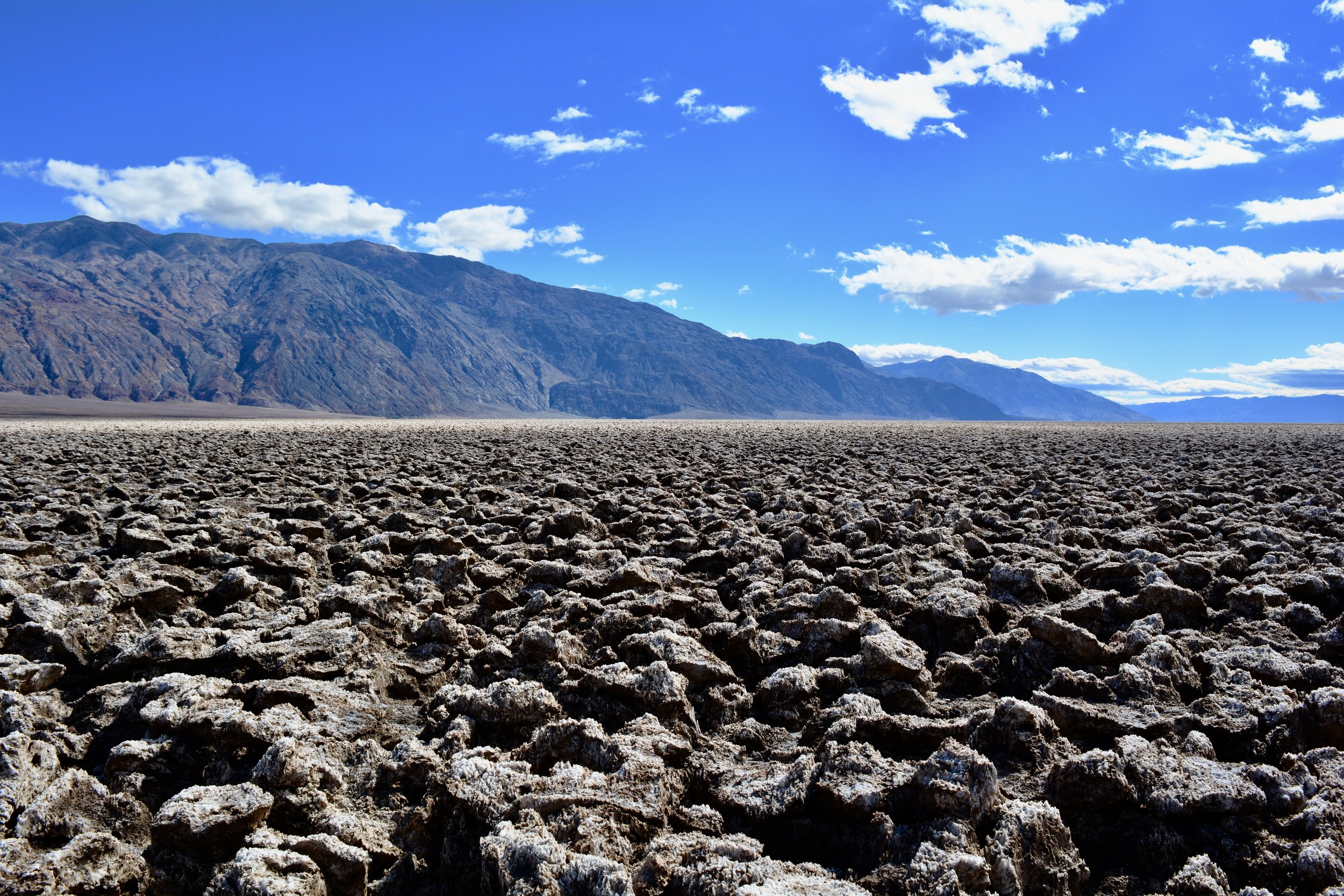 "Death Valley's ""Devil's Golf Course"""
