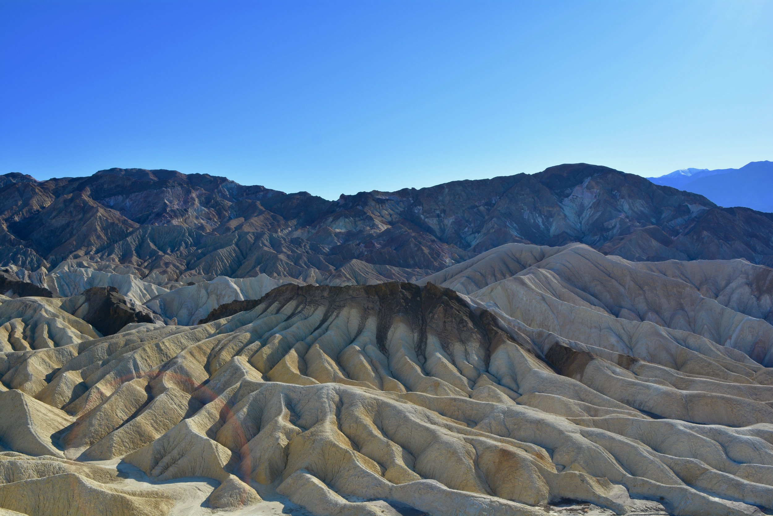 Badlands at Death Valley's Zabriskie Point