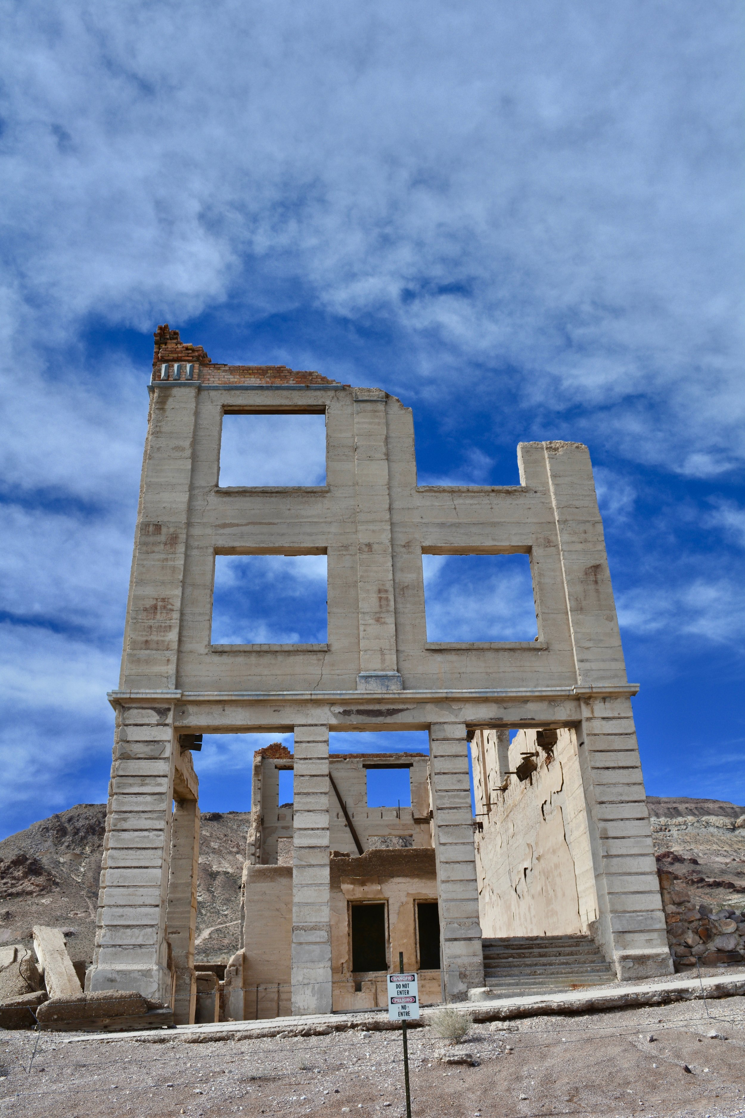 Rhyolite, NV Ghost Town