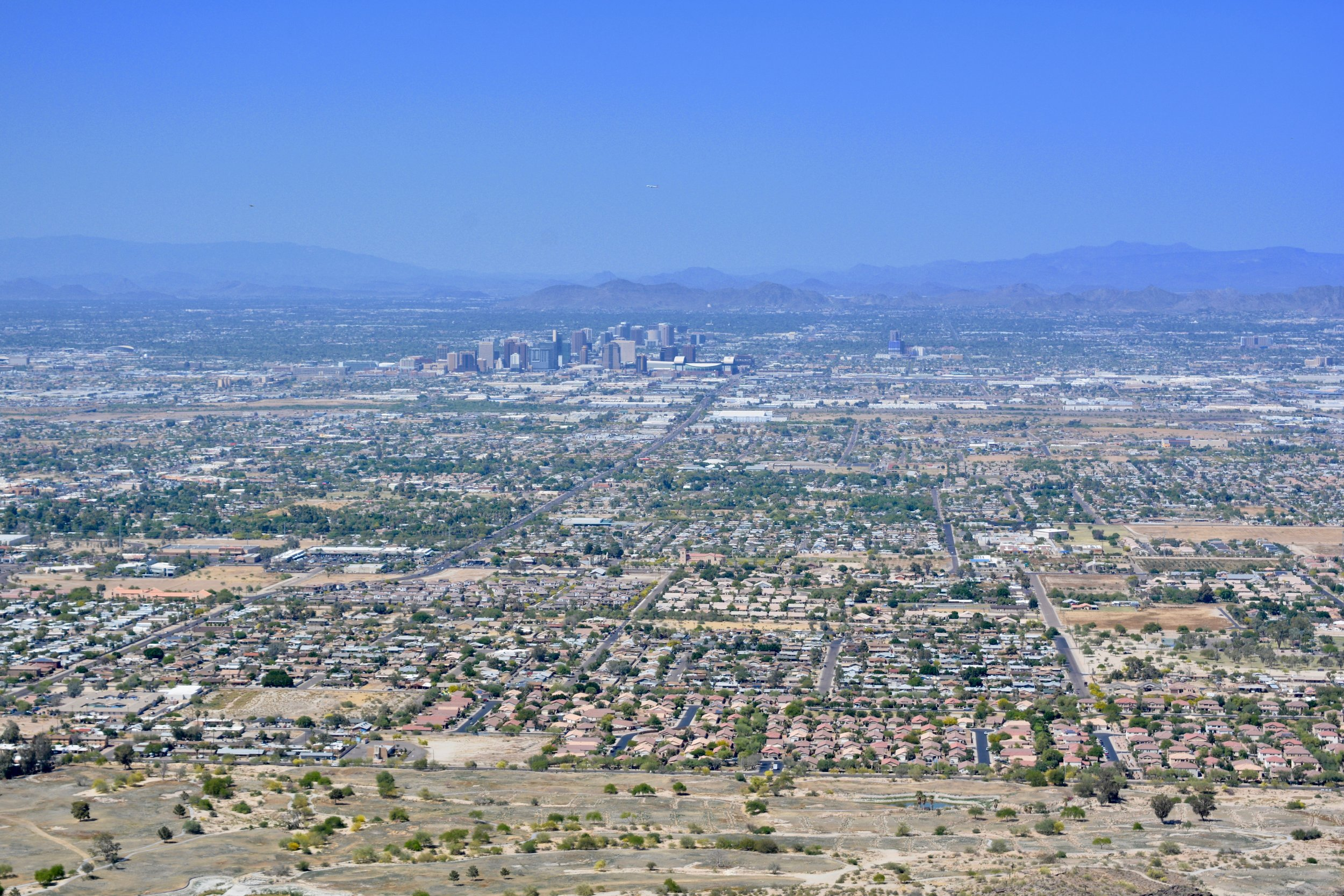 Phoenix from South Mountain Park