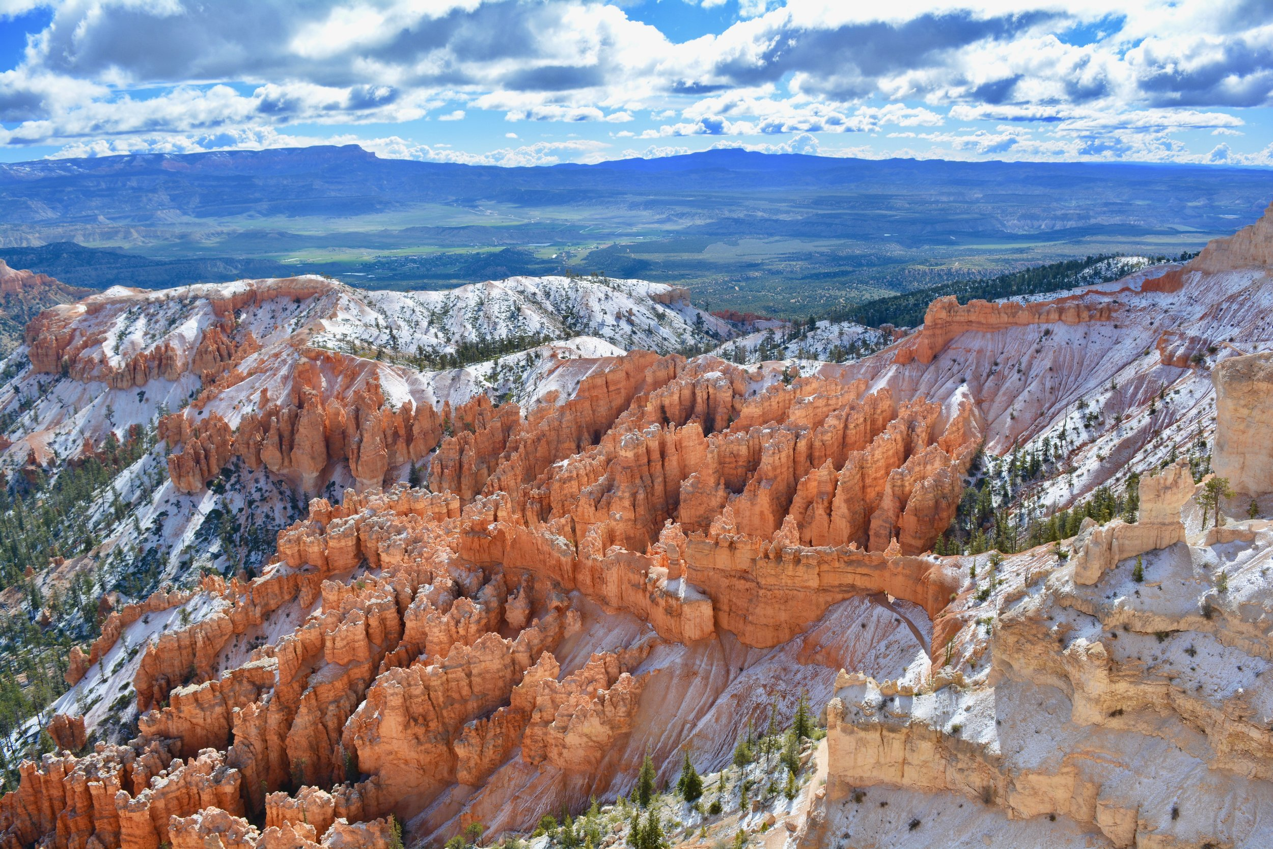 Bryce Canyon the morning after the snow