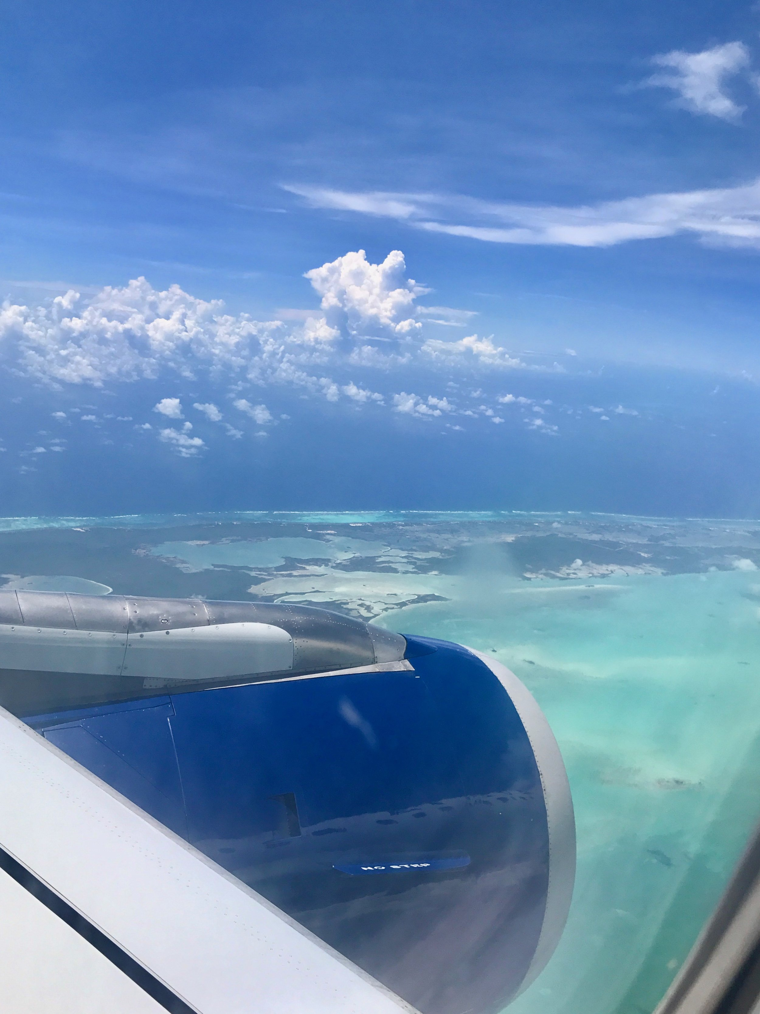 Belize from the sky