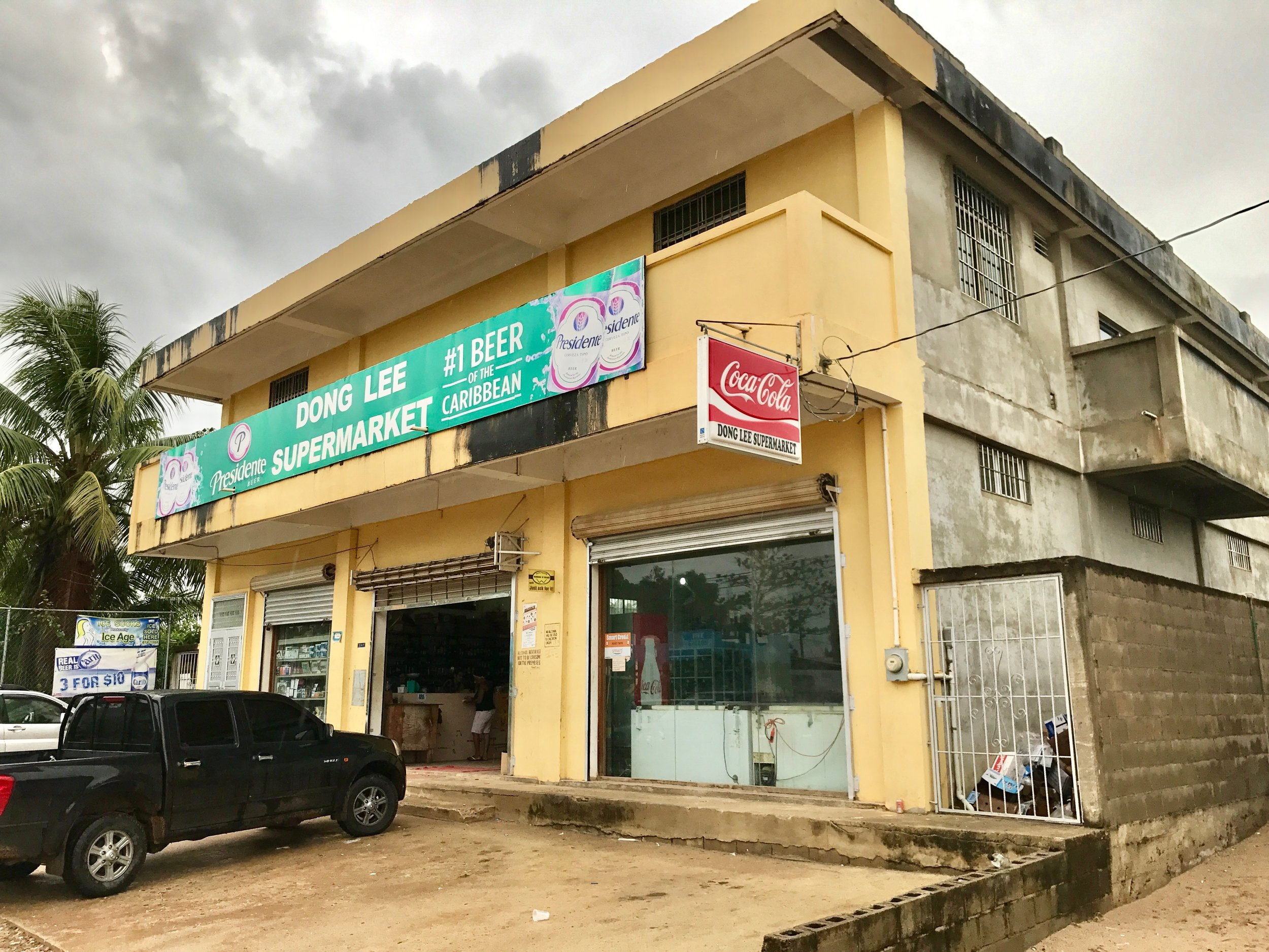 Dong Lee Supermarket, where we did much of our shopping
