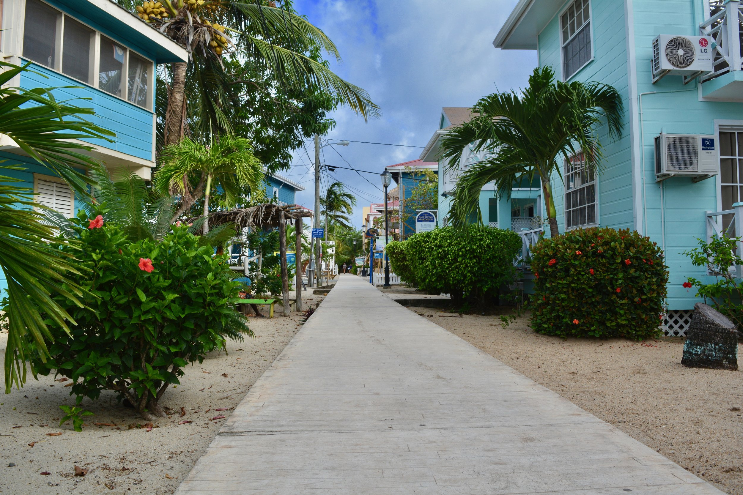 The Placencia Sidewalk