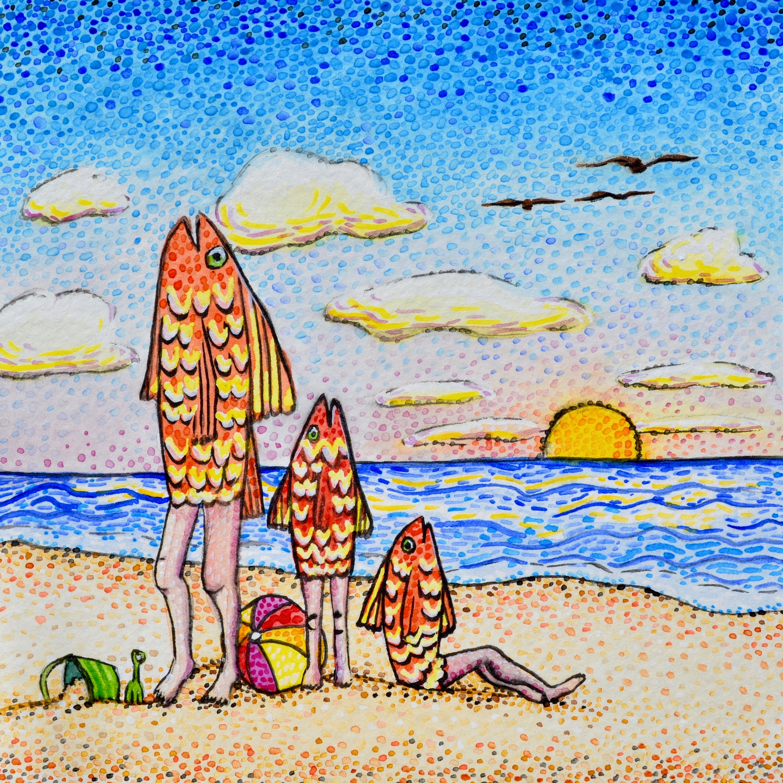 Los Peces en la Playa