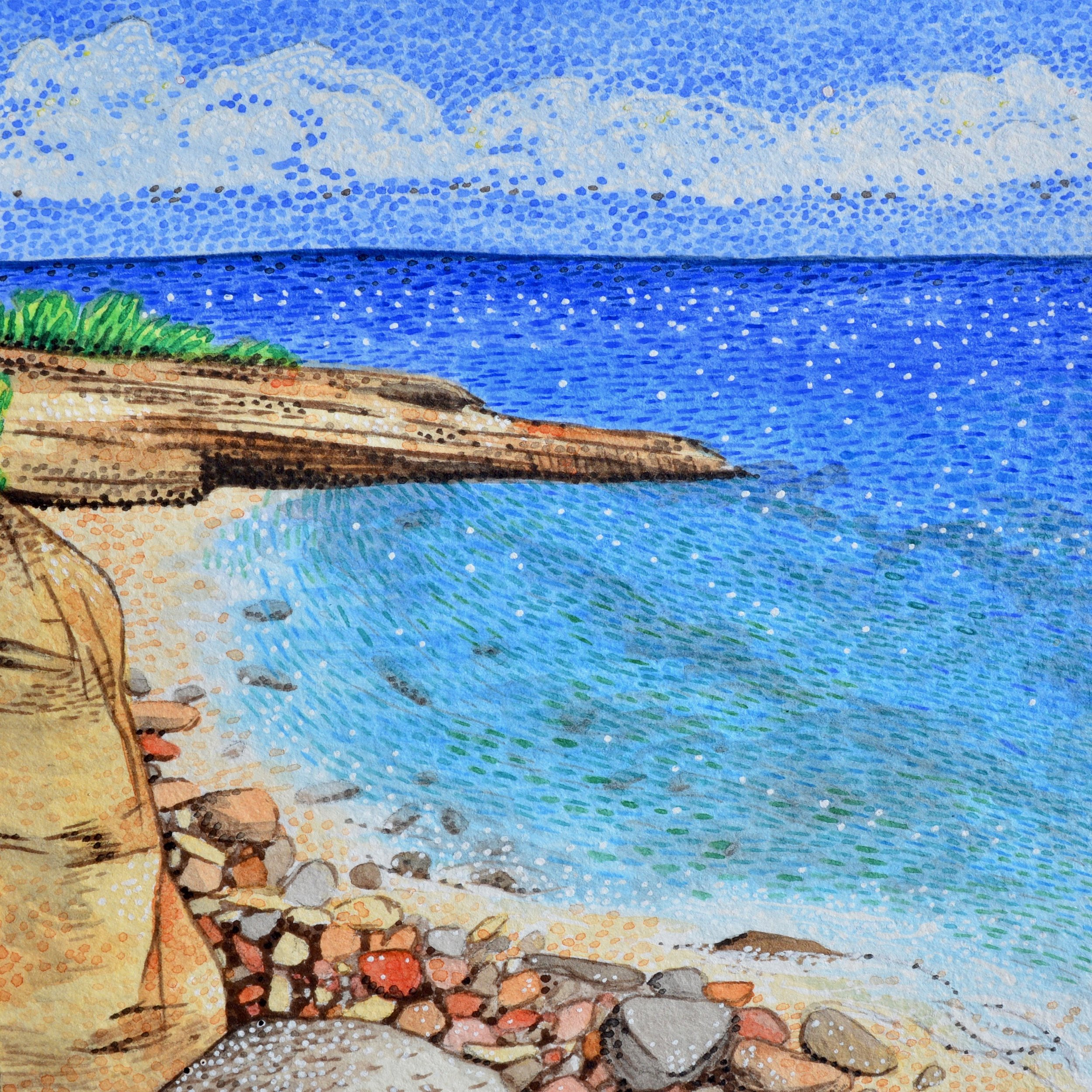 Cupecoy Beach, Sint Maarten: 8/24/17, 15:19:11