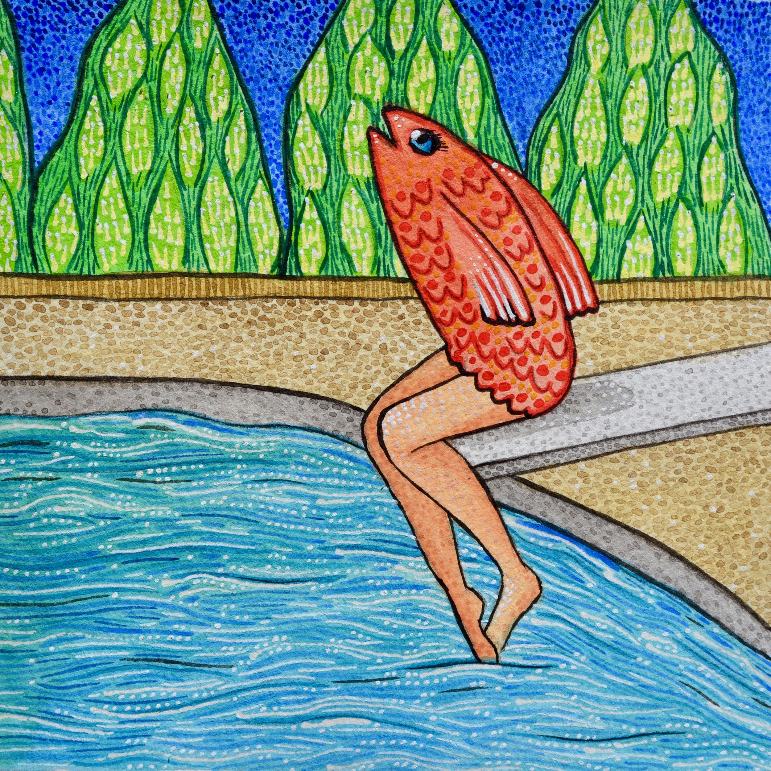 """""""El Pescado Está en la Piscina"""""""
