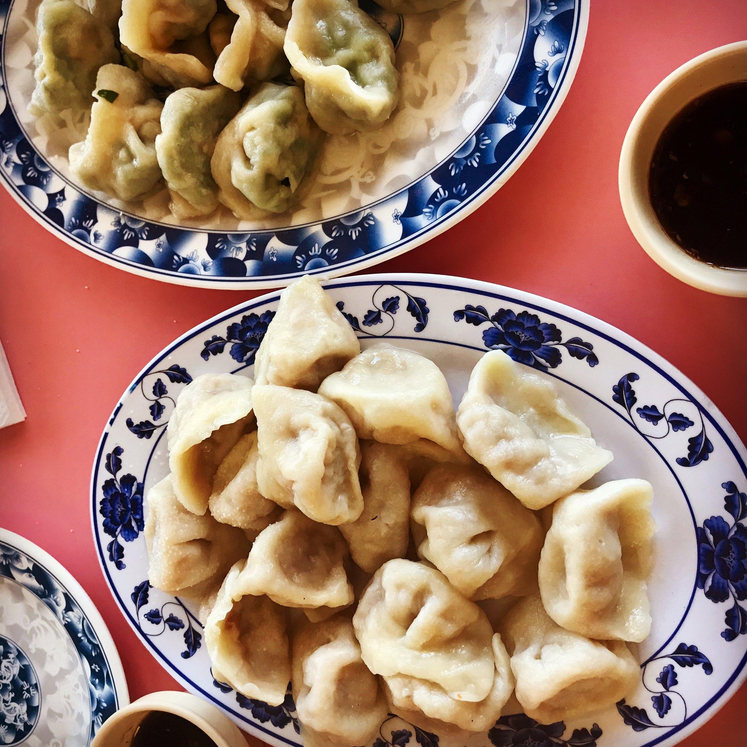 Dumplings at China Pasta House