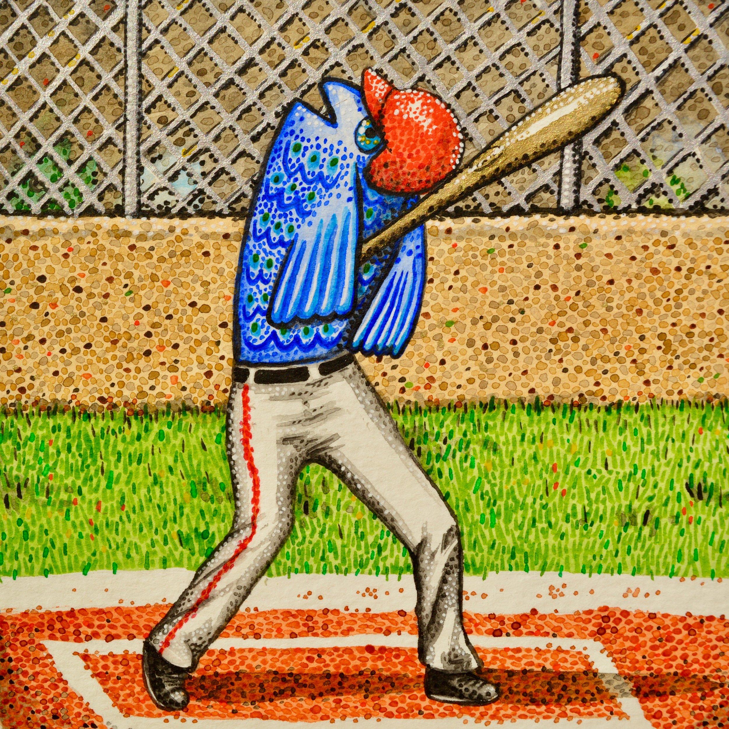 """El Pez está Jugando al Béisbol"" ( Commission )"