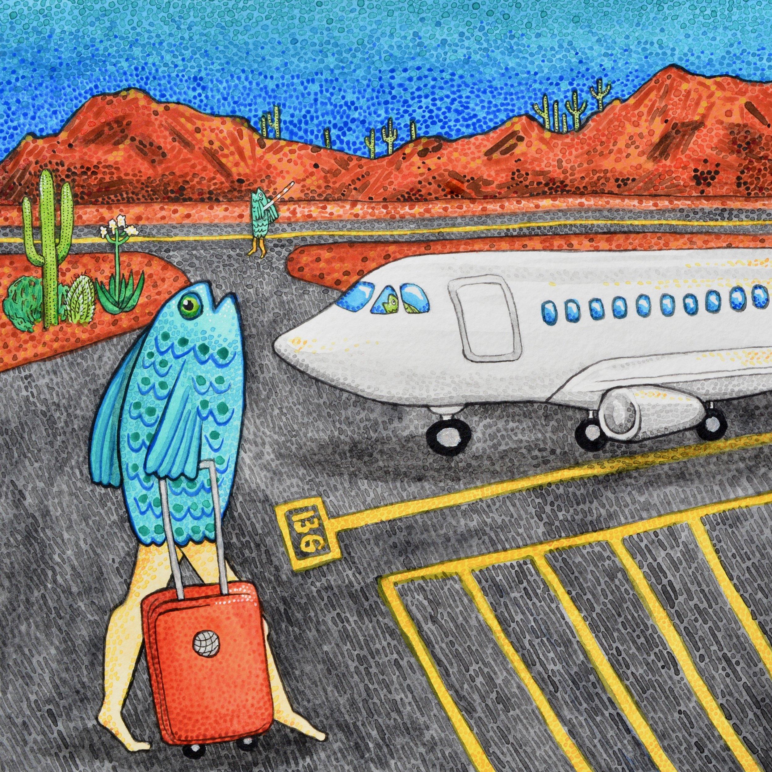"""""""El Pez está en el Aeropuerto"""""""