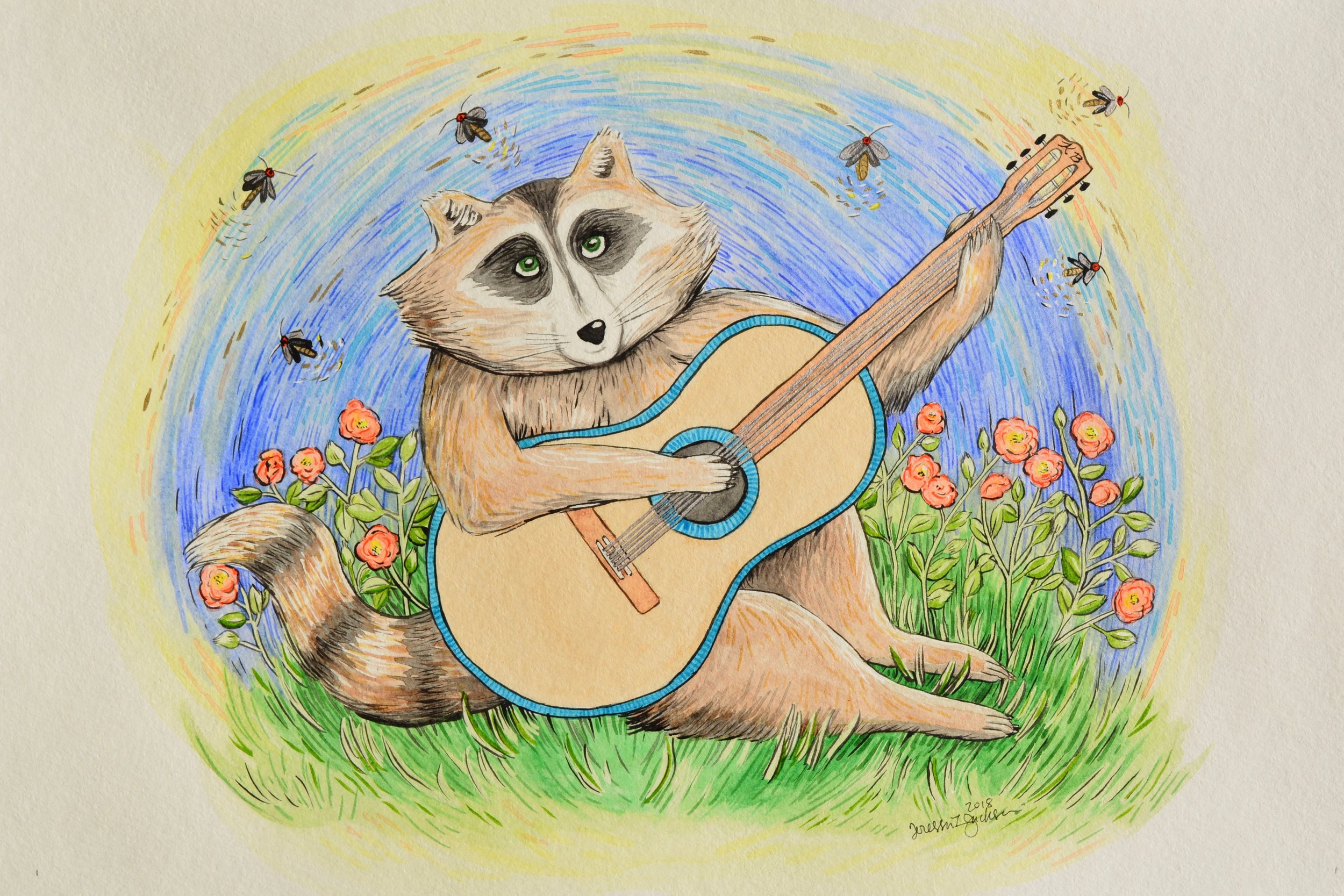 Coonie's Reprise (special gift for my friend's nursery)
