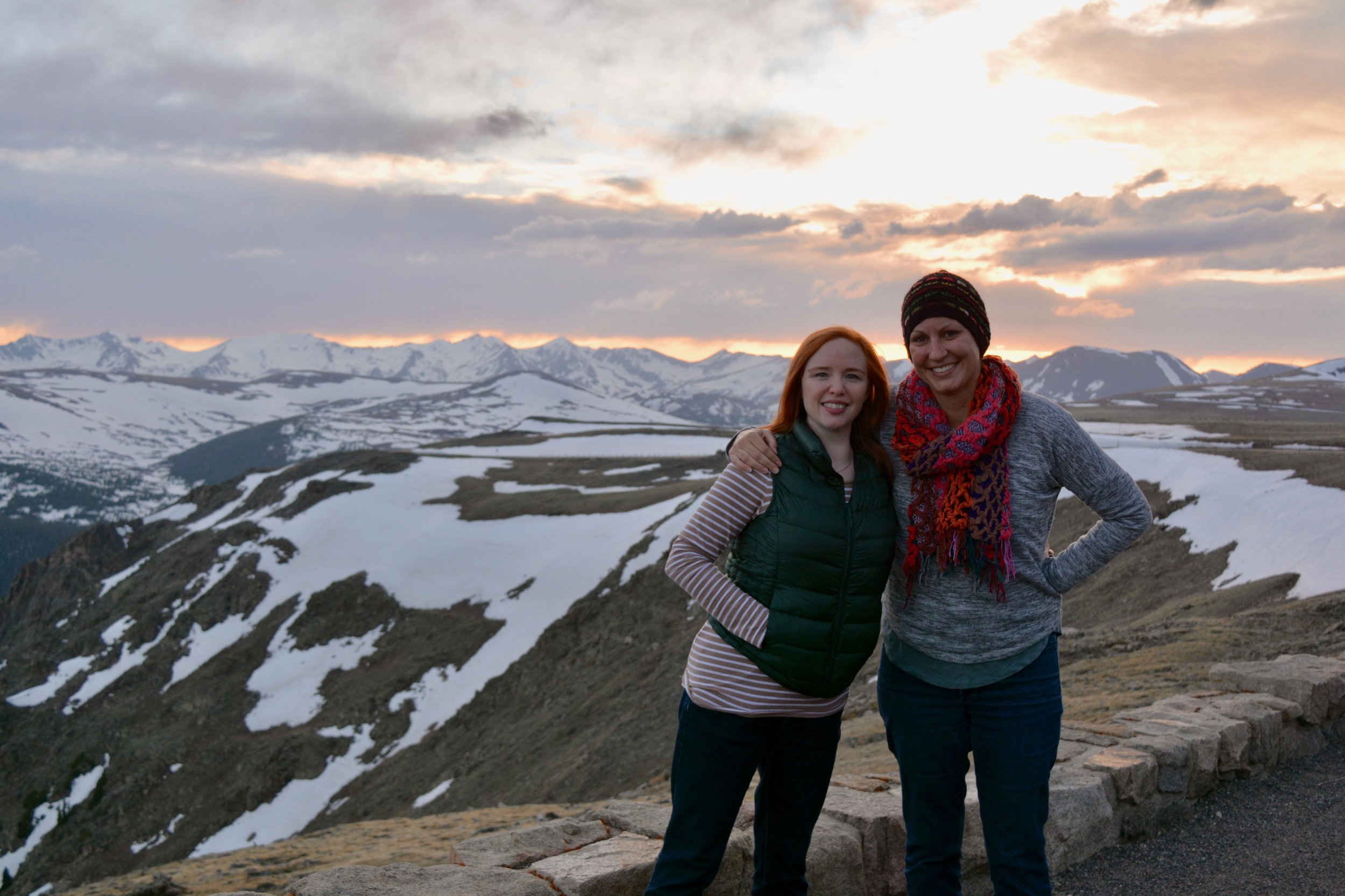 Jenny and me on the alpine tundra