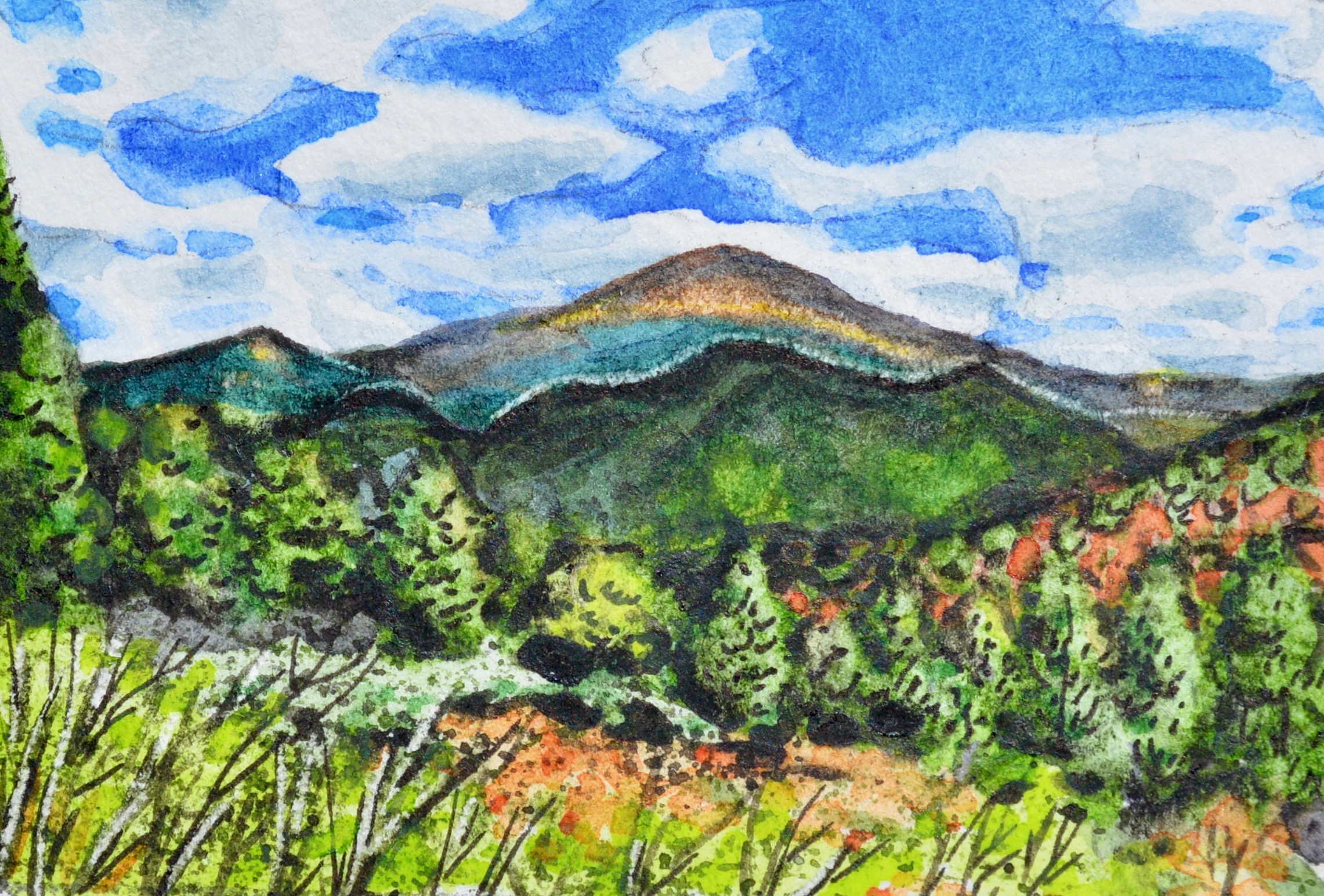 """Pikes Peak, Colorado: 5/20/18, 13:04:00"" SOLD"