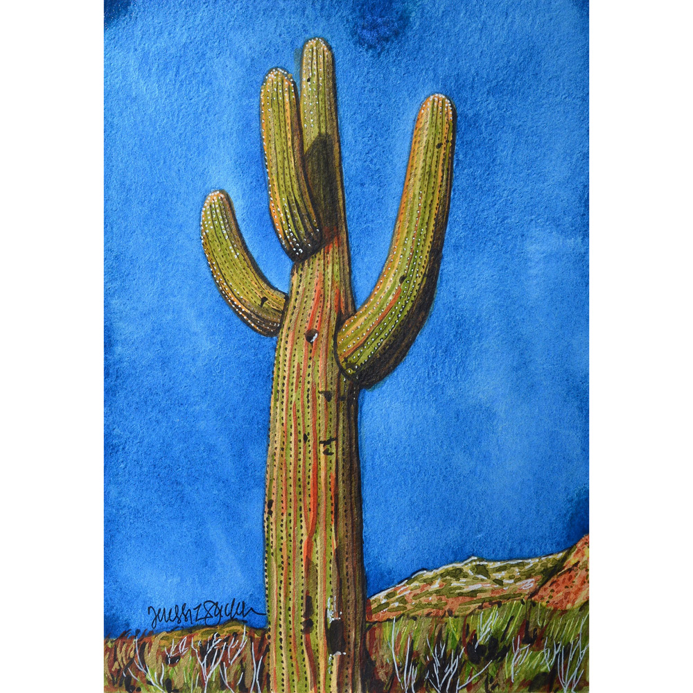 """Saguaro de Oro""  For sale  as of this blog posting"
