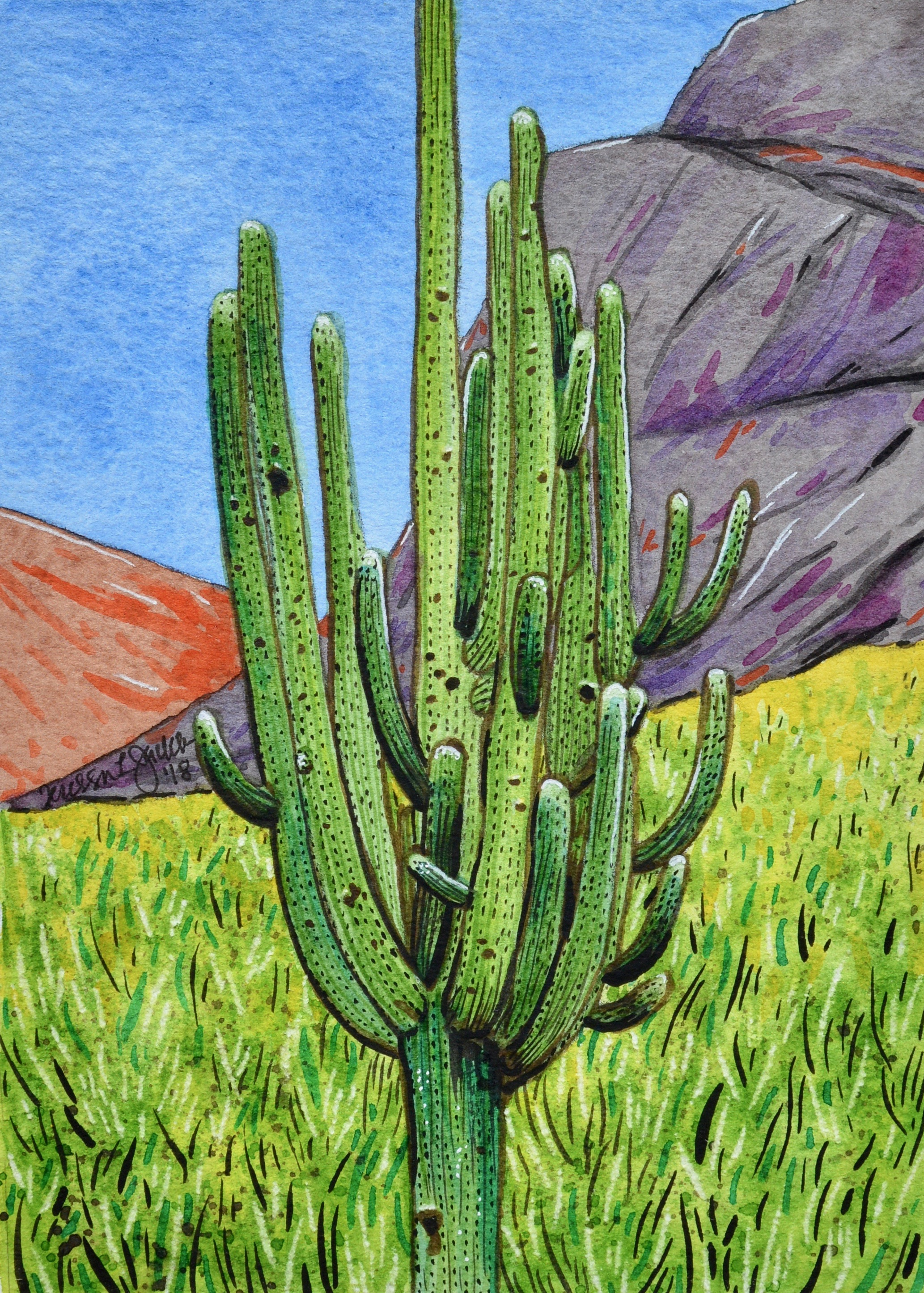 Cactus Army of One SOLD