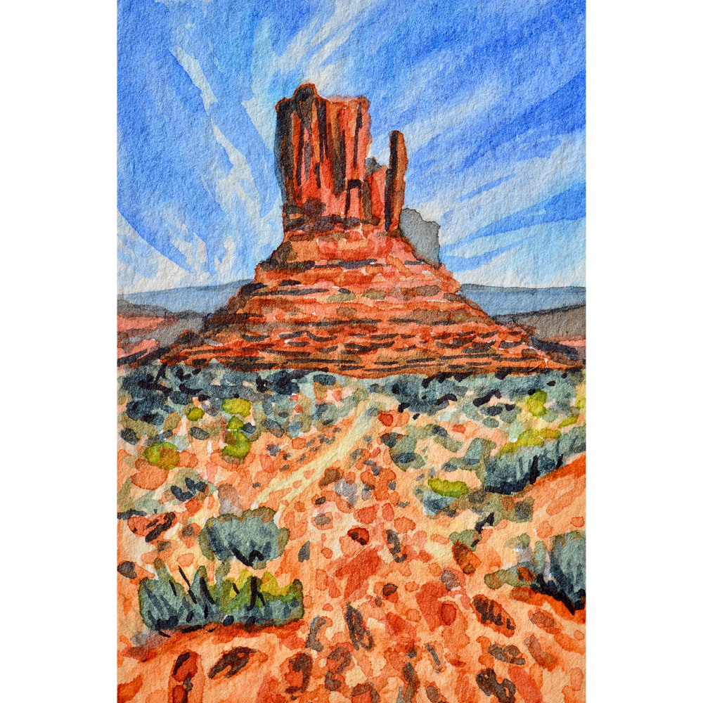 Monument Valley, Arizona: 11/7/18, 7:54:55 SOLD