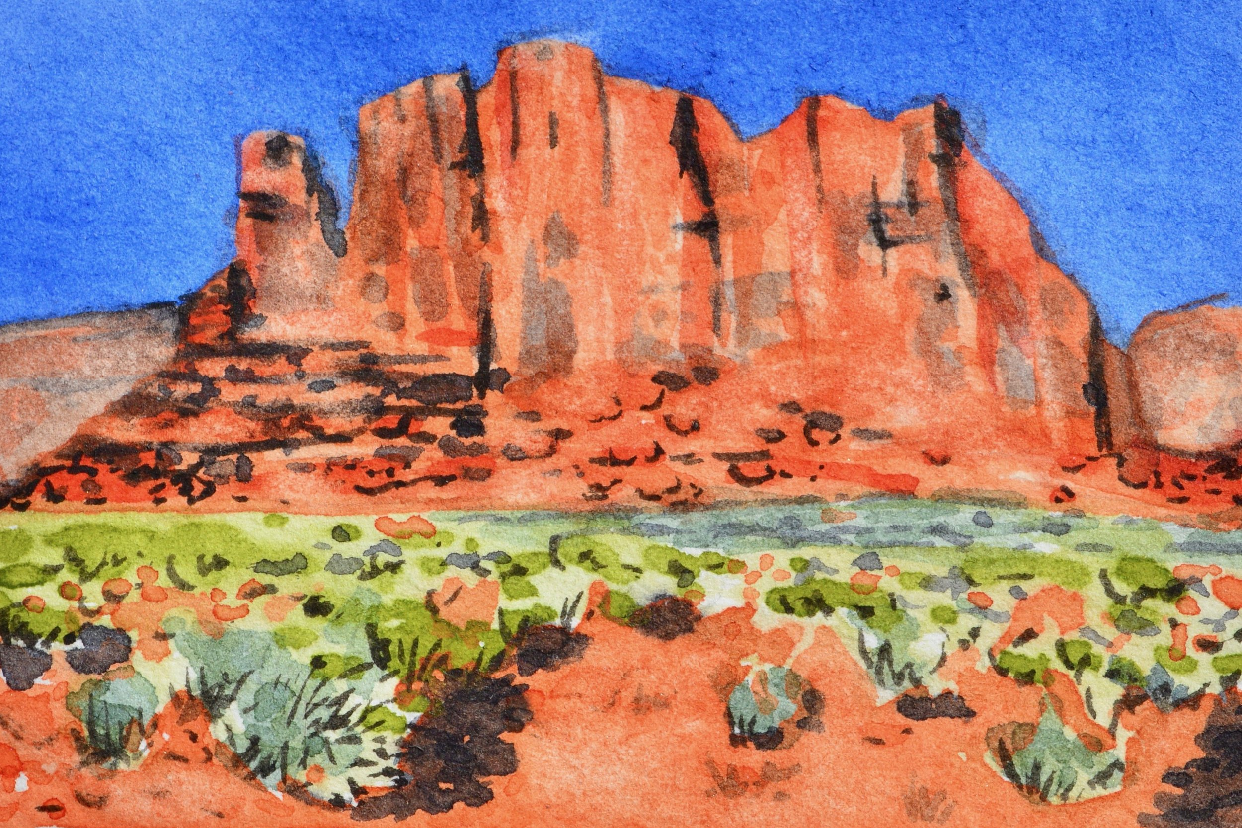Monument Valley, Arizona: 11/6/18, 14:56:23 SOLD