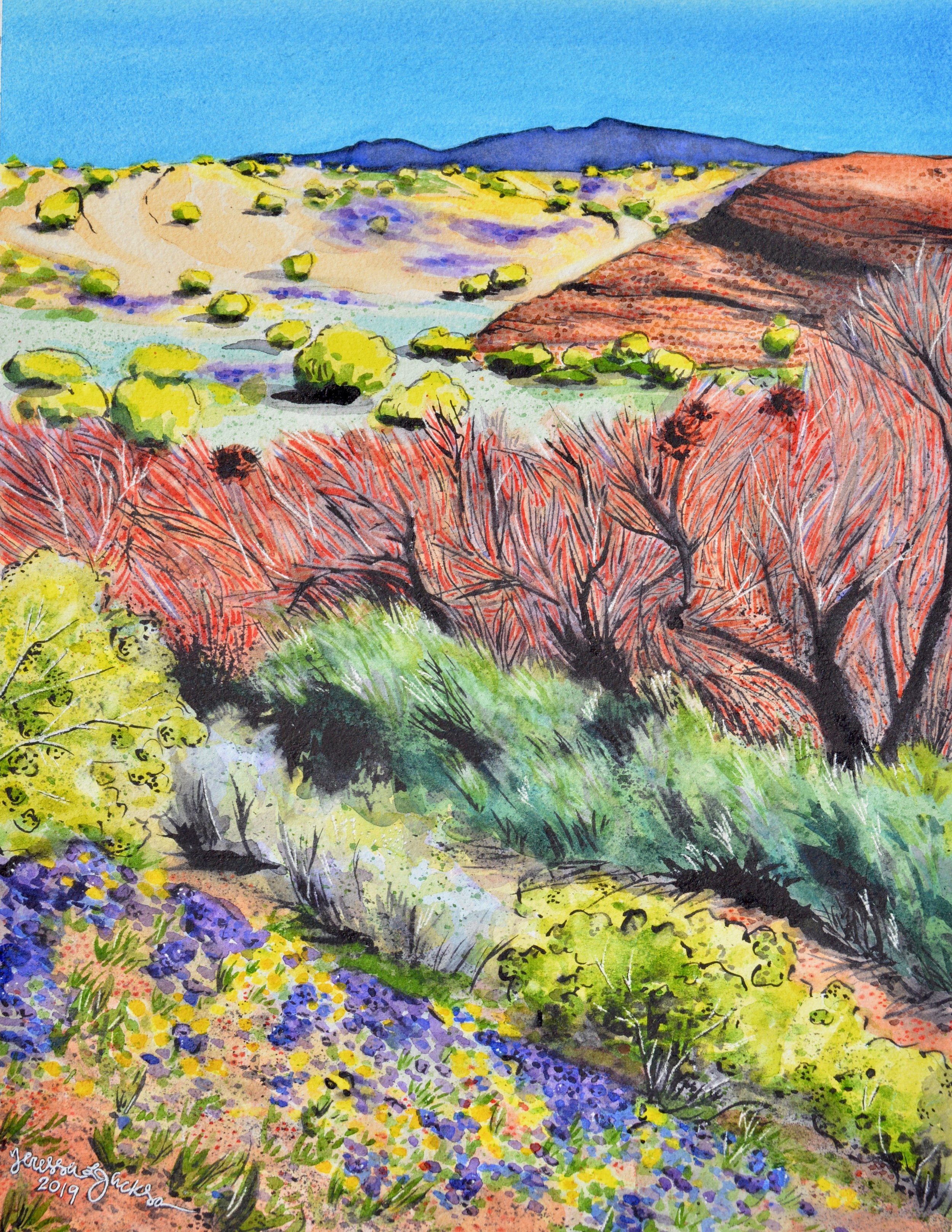 """Havasu Spring""  For sale as of this blog posting  10x13"""