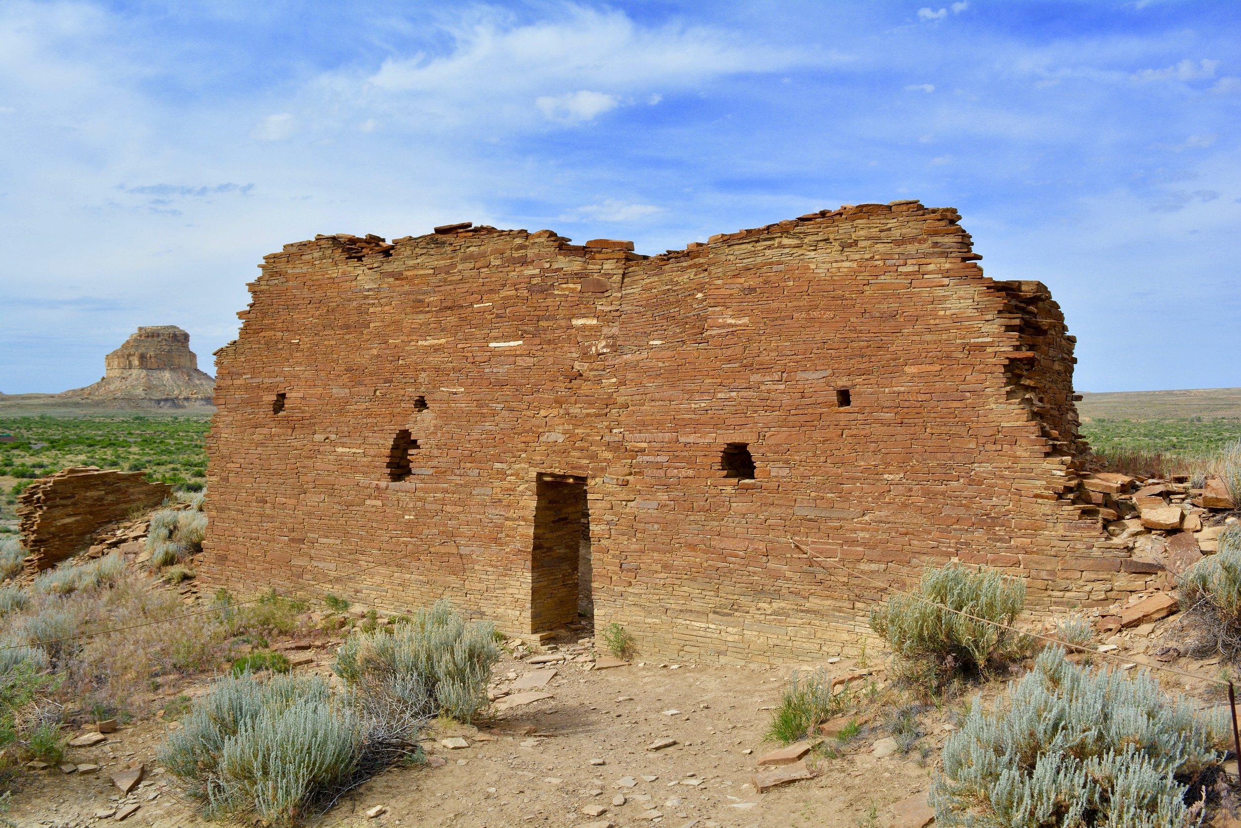 Ruins at Chaco Culture