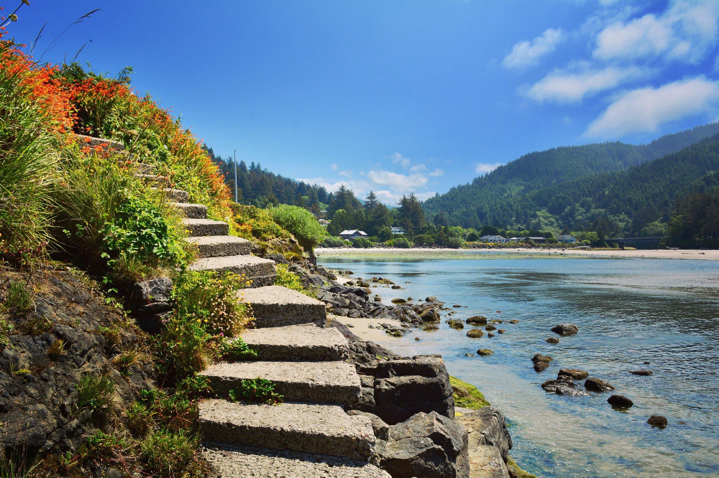 Oregon coast at Yachats