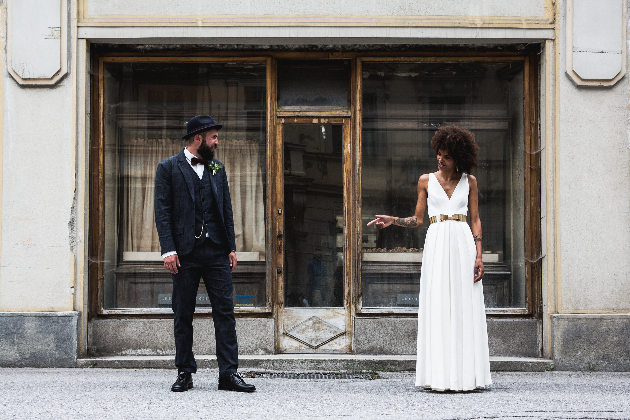getting married stylish in Bad Gastein