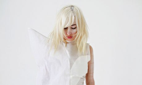 Zola Jesus. Click for  her site .