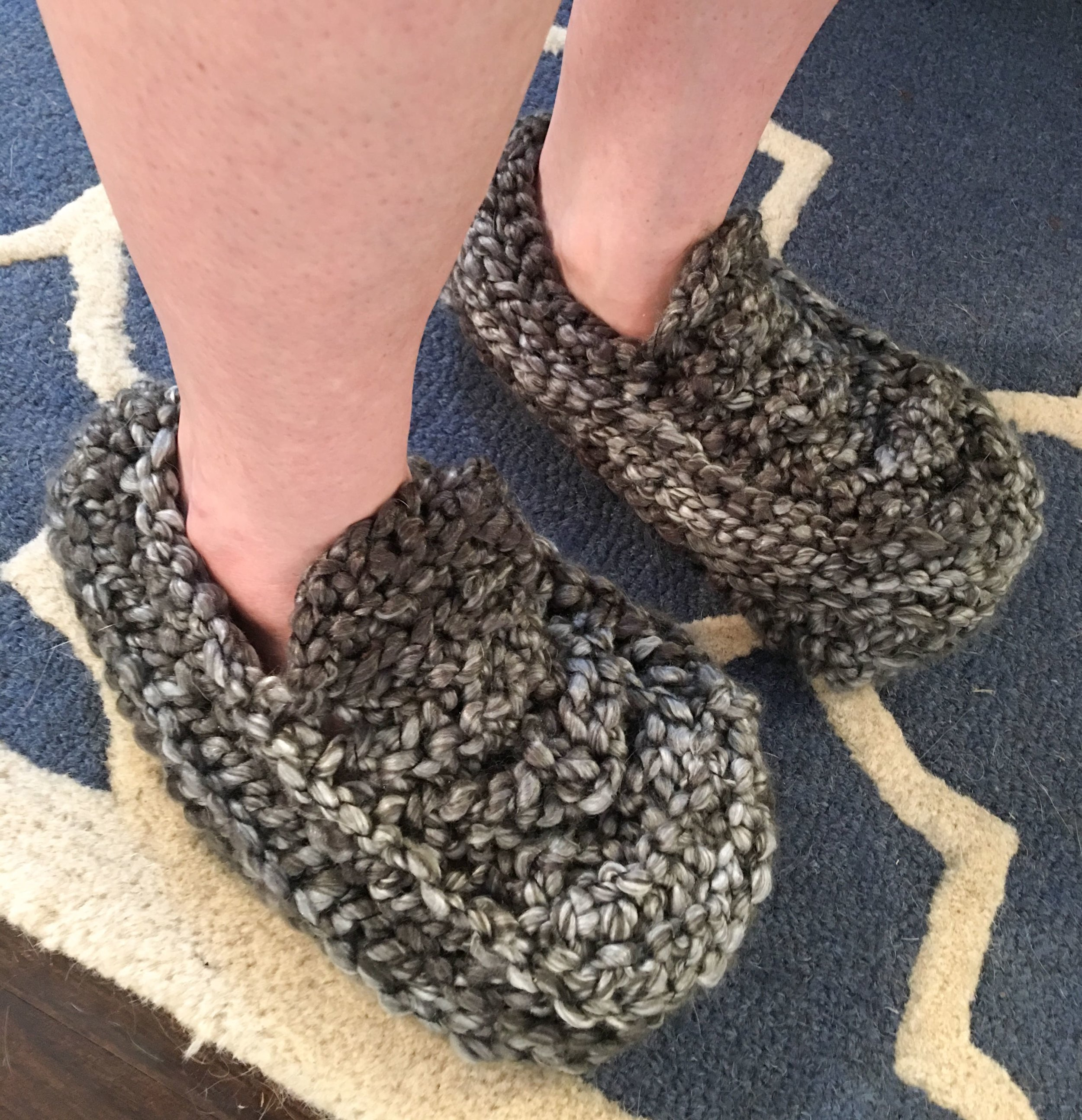 want some of these crochet slippers?  call, text, or email today and we will get it going!