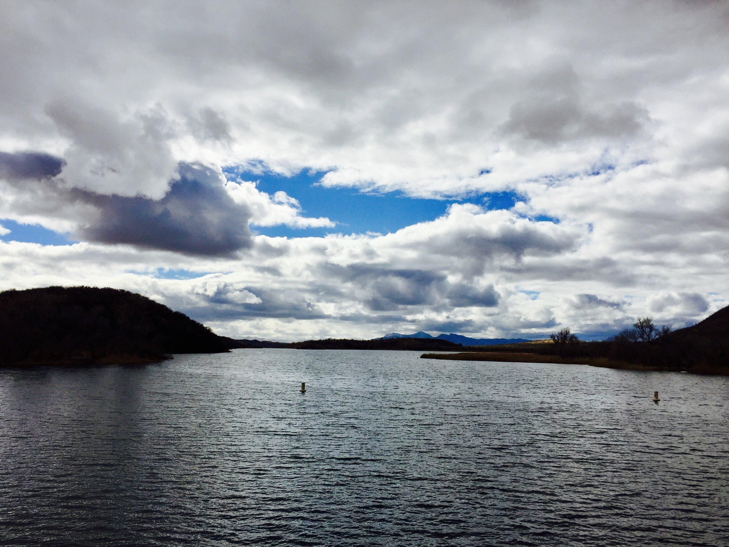 Lake Patagonia in Southern Arizona