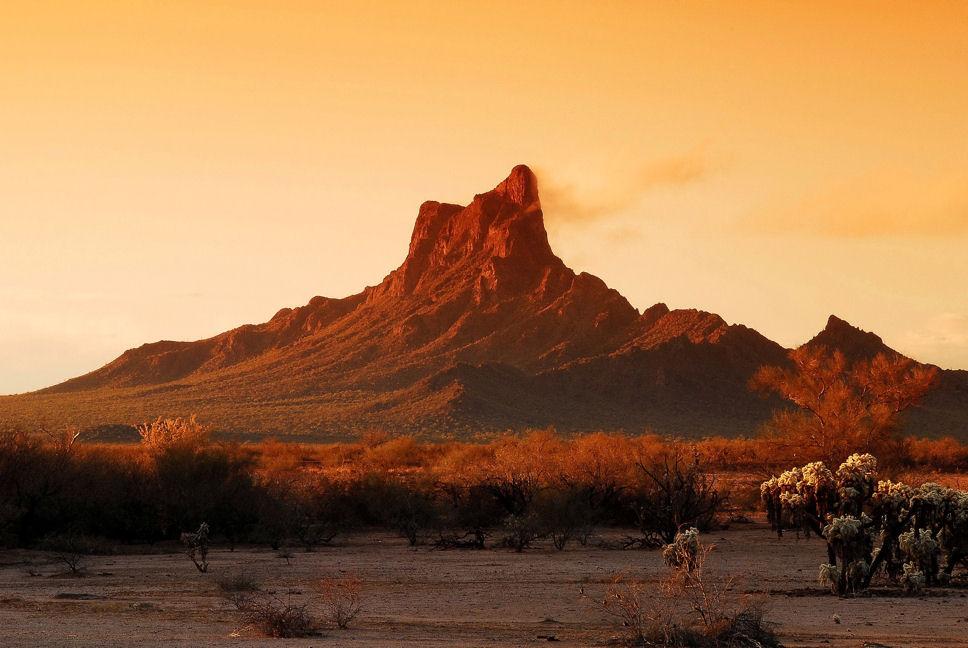 Picacho Peak, north of Tucson