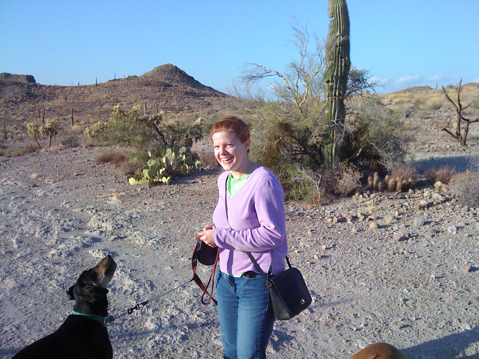Melissa and Daisy in the Superstition Mountains (2010)
