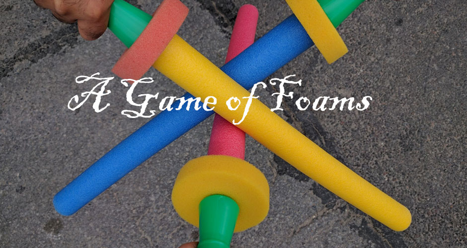 A Game of Foams