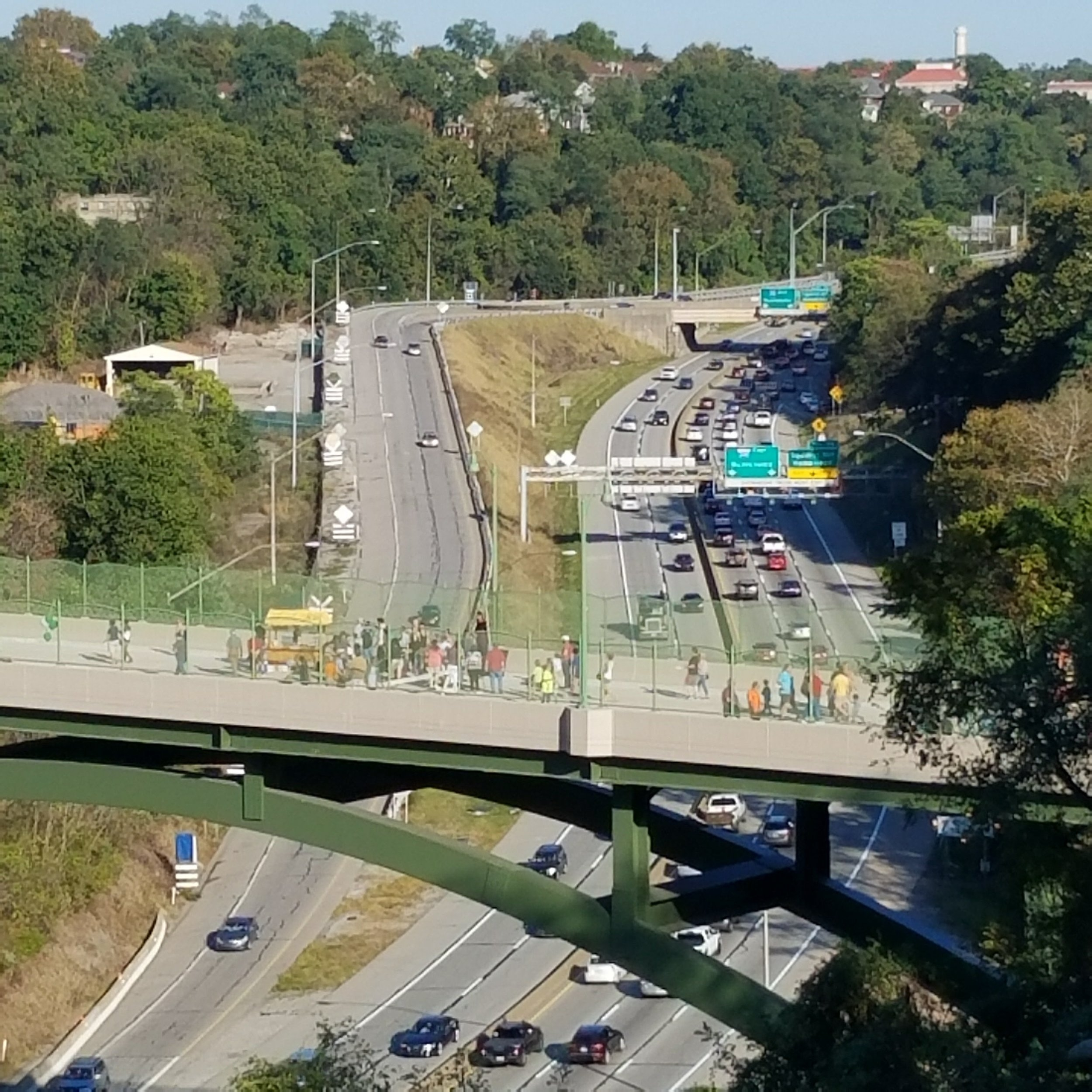 A view of the Bridge from Winterburn Ave