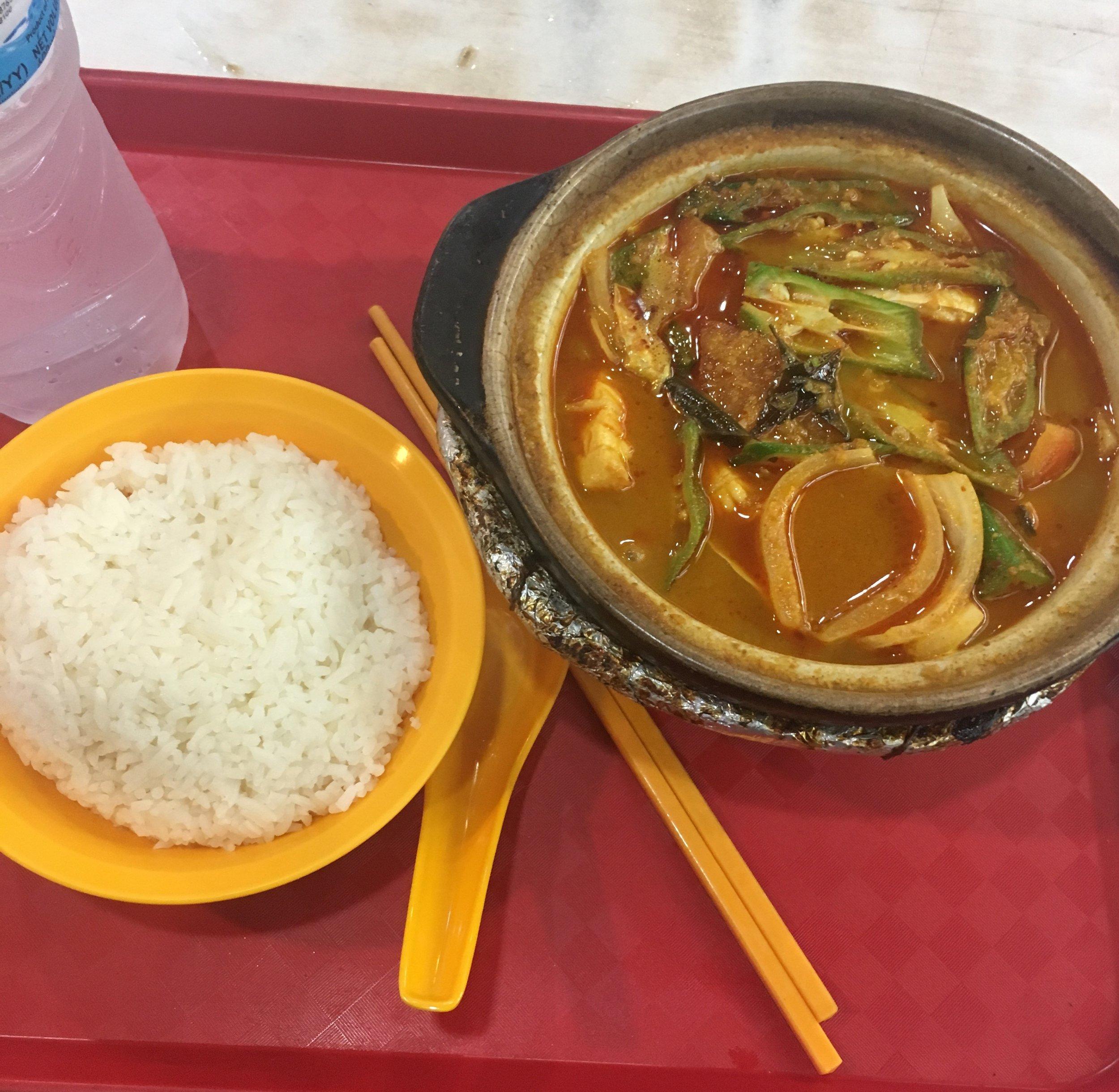 Claypot Stingray Curry