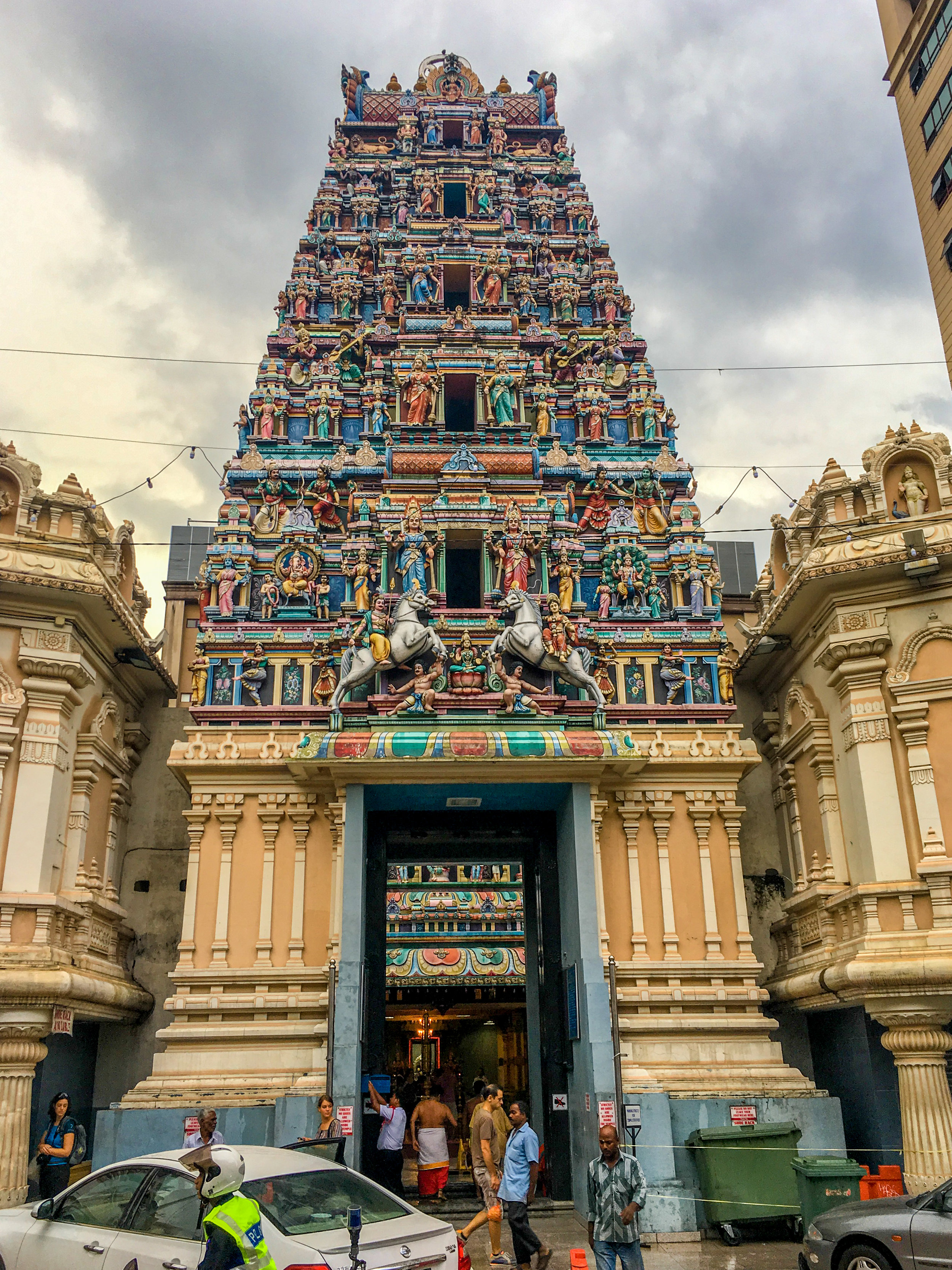 The largest Hindu temple in KL