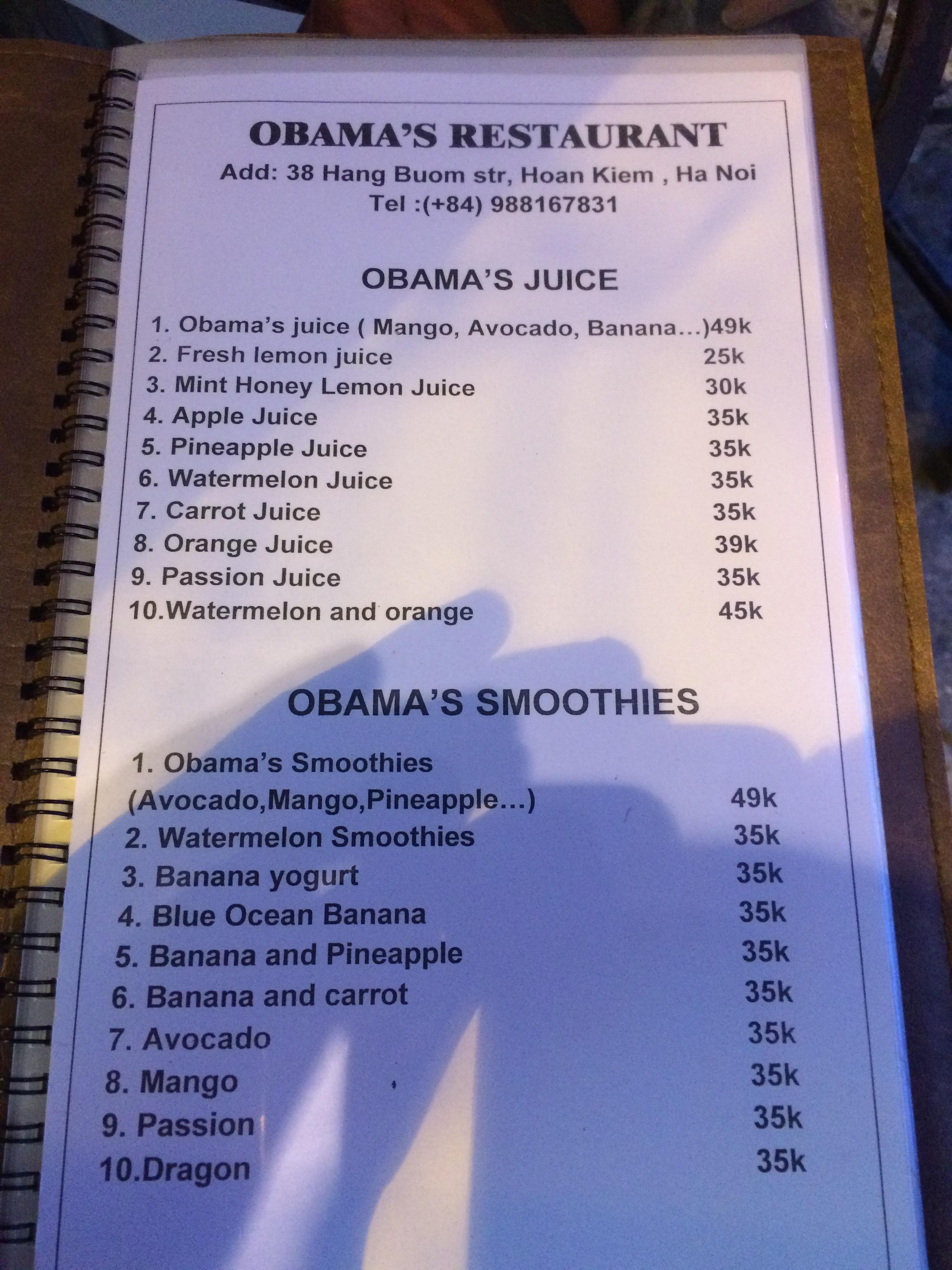 Obama's new venture! Hanoi, Vietnam