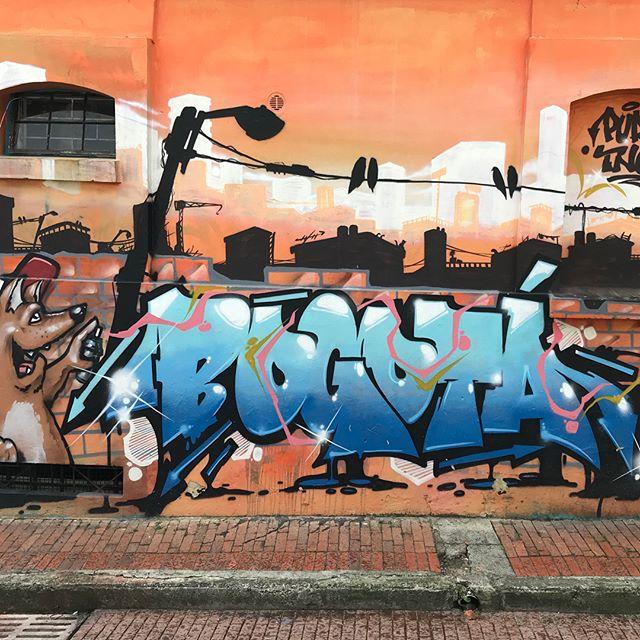 Graffiti = art = protest = tourism = $ = IG