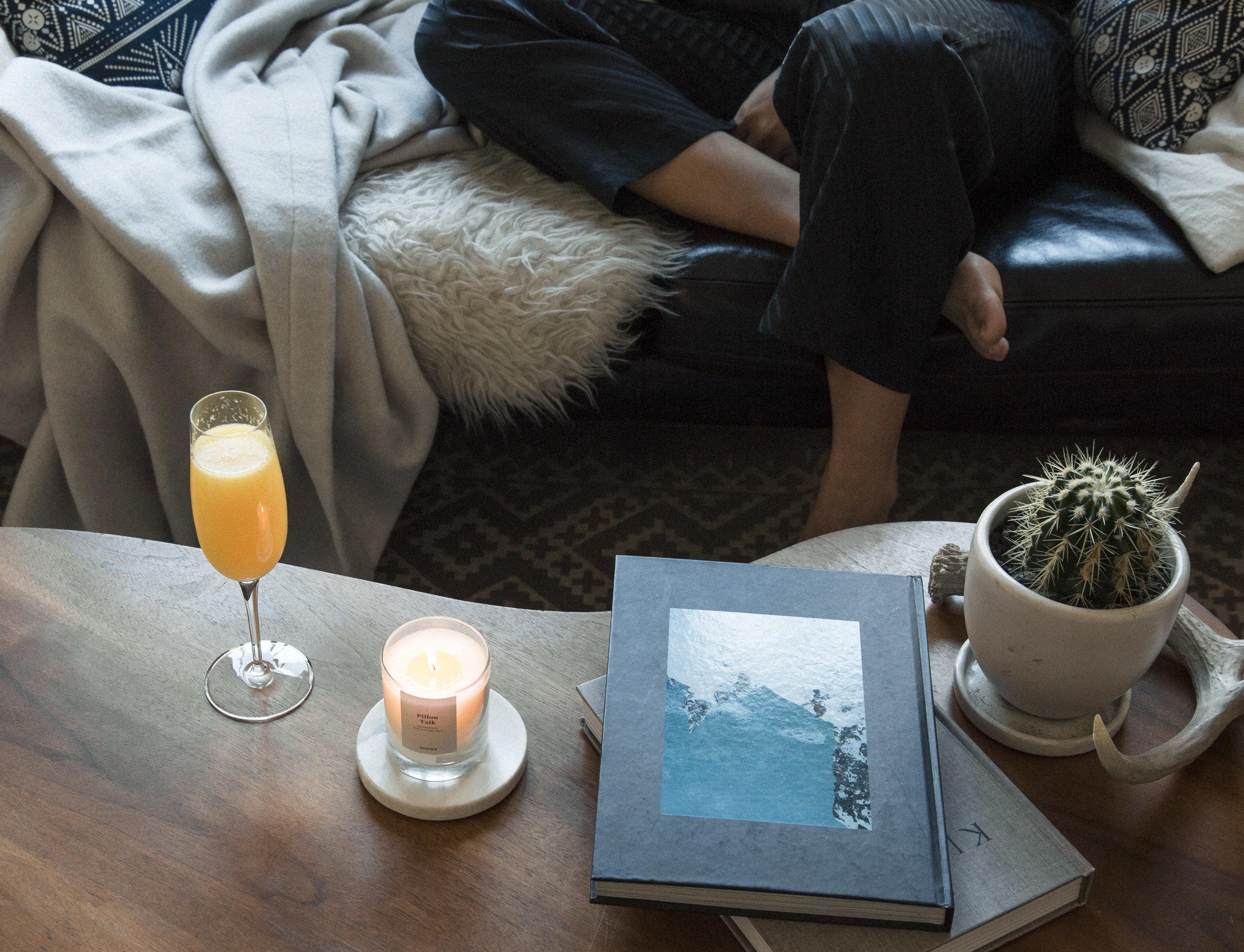 caitlin_miyako_taylor_snowe_champagne_glass_candle_blanket