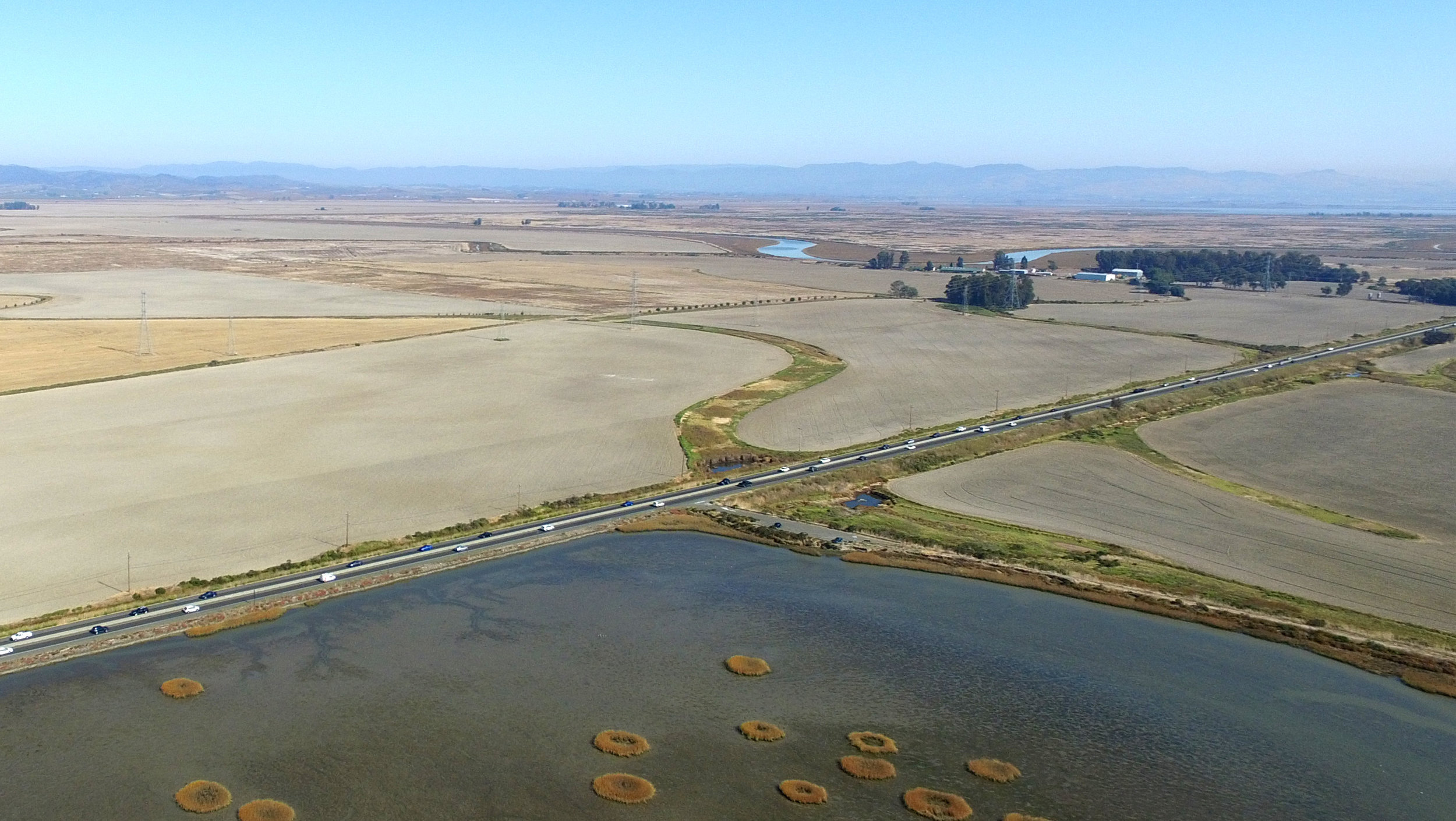 State Route 37 and the Baylands