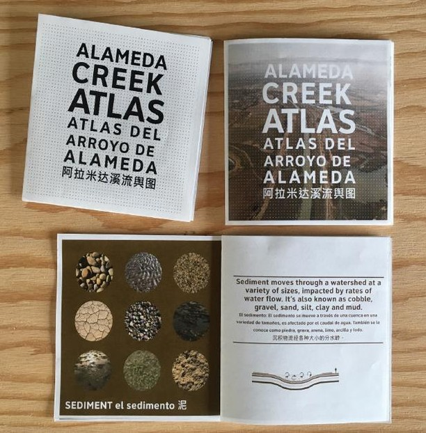 Toolkit Feature: Alameda Creek Atlas (Public Sediment) . Public Sediment (scape_studio) created the Alameda Creek Atlas with information about the Alameda Creek watershed and opportunities to fill in how the public uses the creek, what changes they'd like to see, and any memories of growing up with the creek (trout recipes, etc). The Atlas helped the team raise public awareness and build a creek constituency. . . . This tool is part of the Participation + Action + Education Toolkit. Over the next few weeks we will be sharing tools the design teams used during the Bay Area Challenge to connect with community members in order to exchange ideas, raise awareness about flooding, and motivate future champions. . These tools are designed for people who want to creatively engage their communities in planning for a resilient future. . Whether you're an educator, a park ranger, or community member, we hope this toolkit inspires you to start conversations within your communities on planning for a rising bay. . View the full toolkit at resilientbayarea.org/toolkit (or link in bio) . #resilientbay
