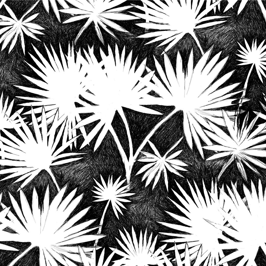 """Copy of """"Palm Leaf"""""""