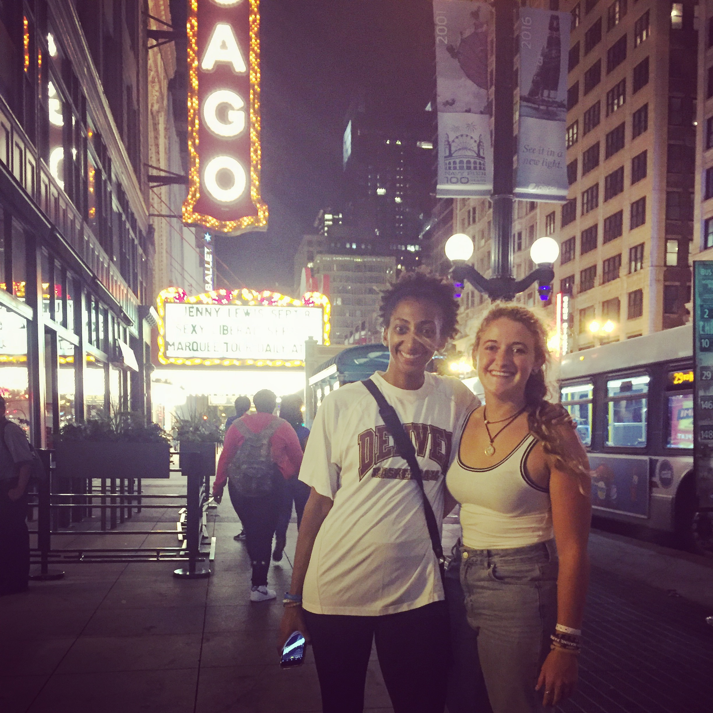 Downtown Chicago with Madss