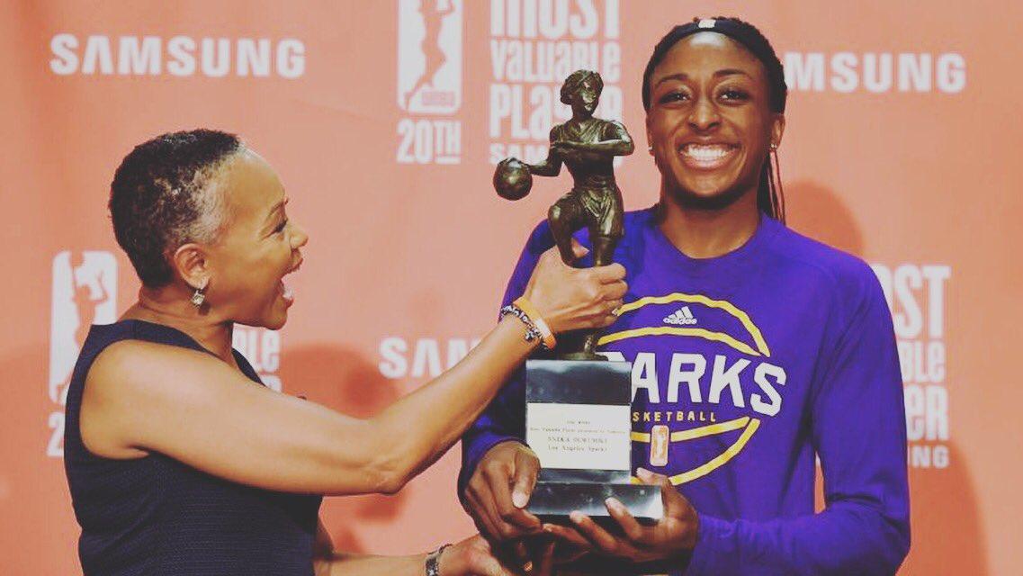 Nneka Ogwumike, 2016 WNBA MVP